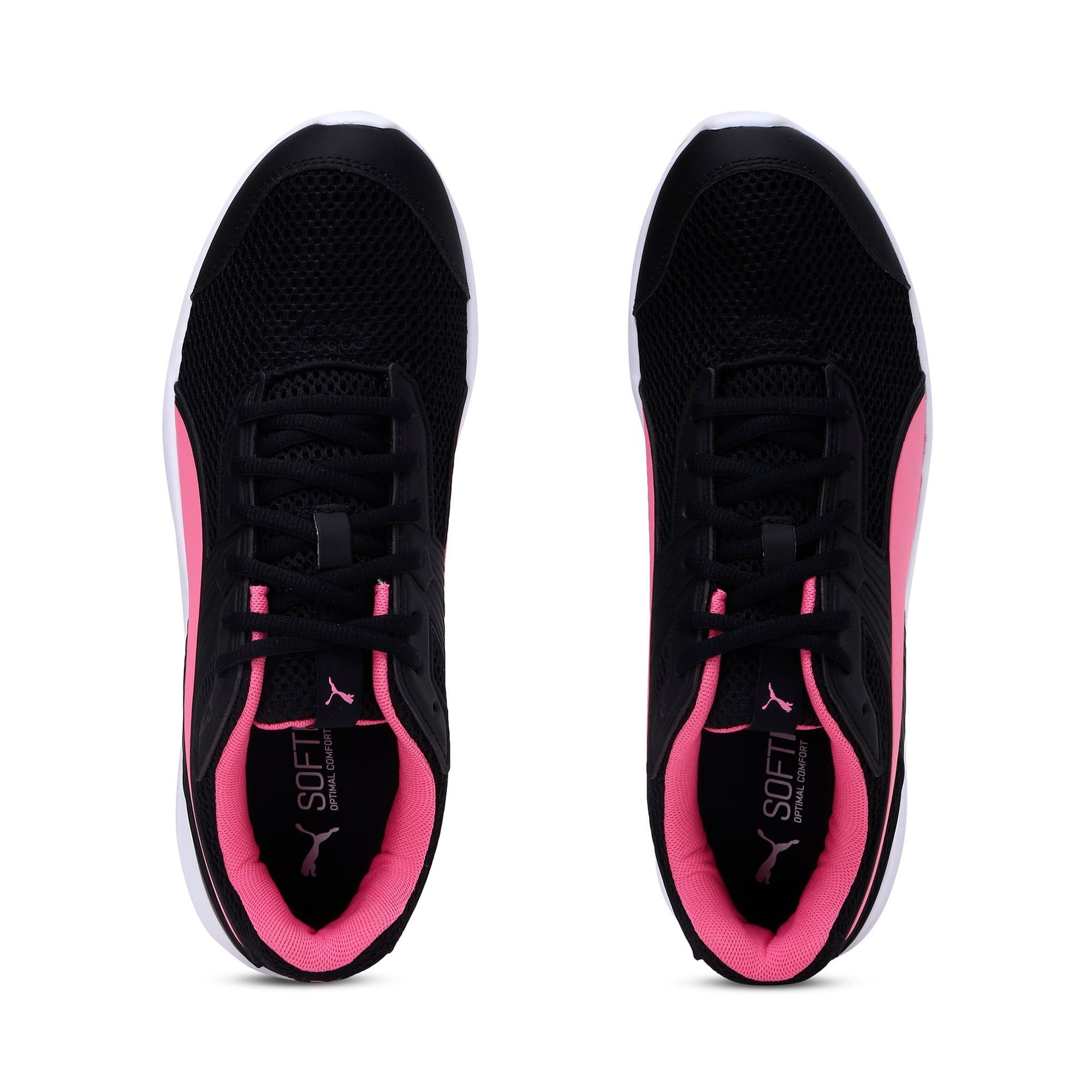 Thumbnail 8 of Escaper Training Shoes, Puma Black-Azalea Pink-White, medium-IND
