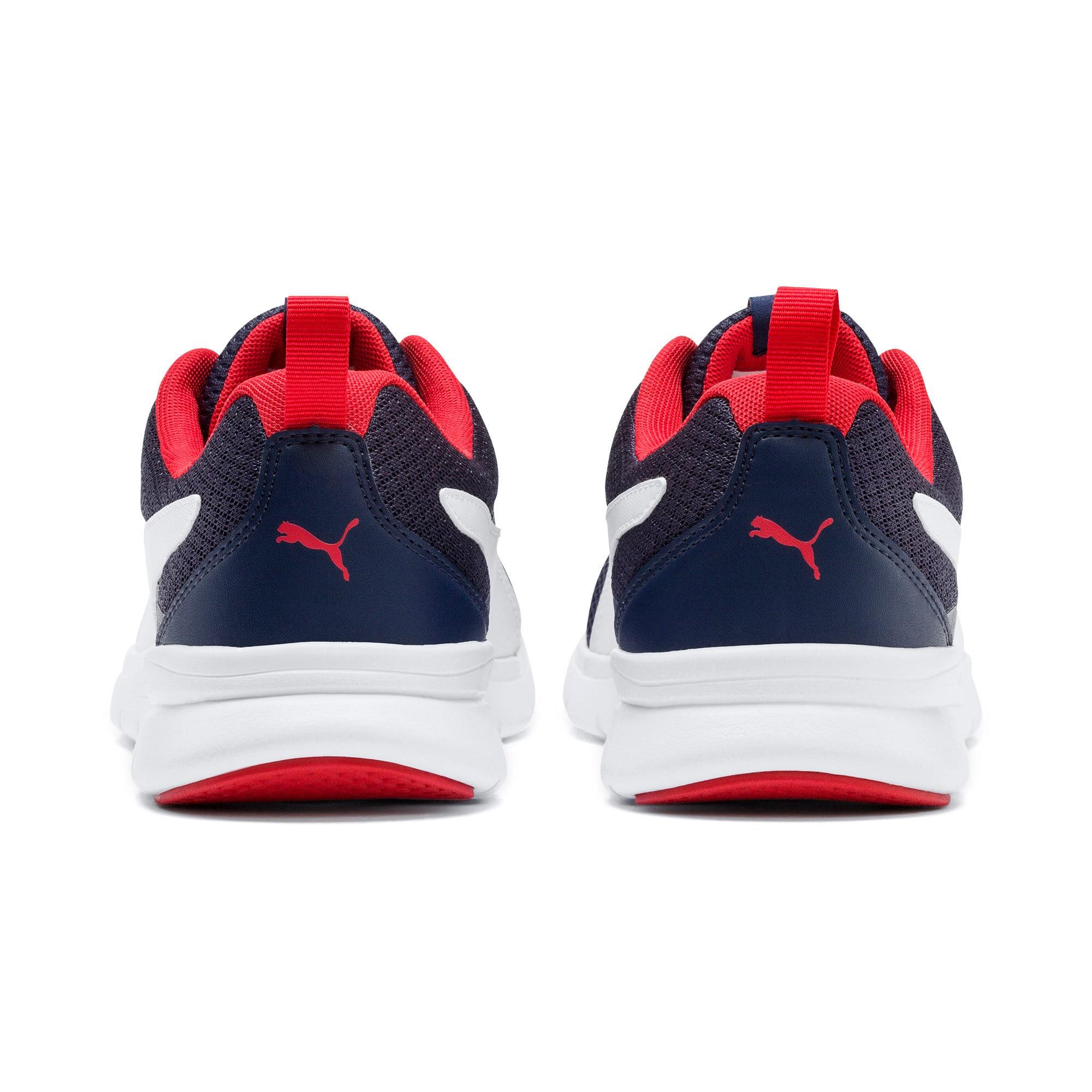 Thumbnail 4 of Flex Essential Training Shoes, Peacoat-P.White-Hi. Risk Red, medium-IND