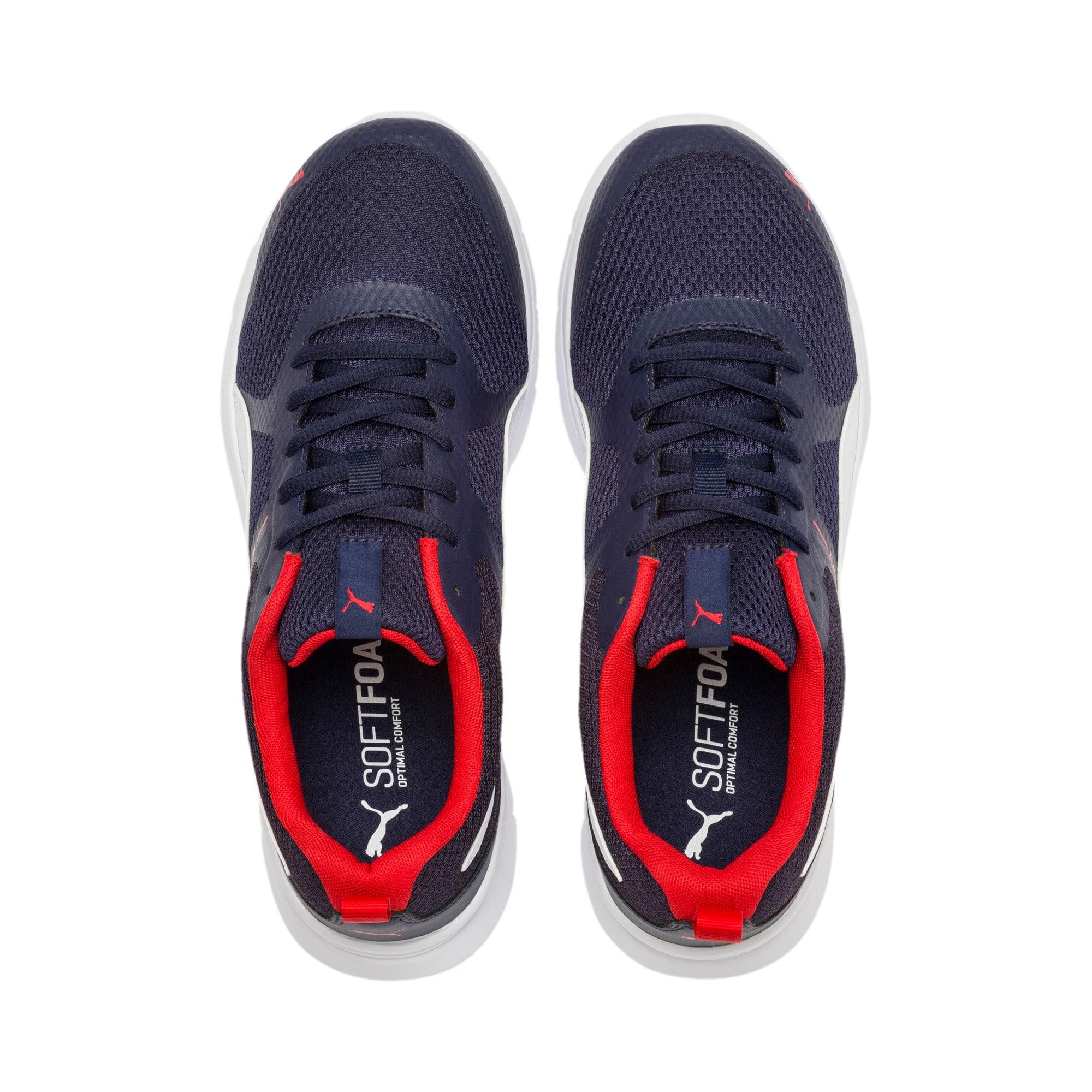 Thumbnail 3 of Flex Essential Training Shoes, Peacoat-P.White-Hi. Risk Red, medium-IND