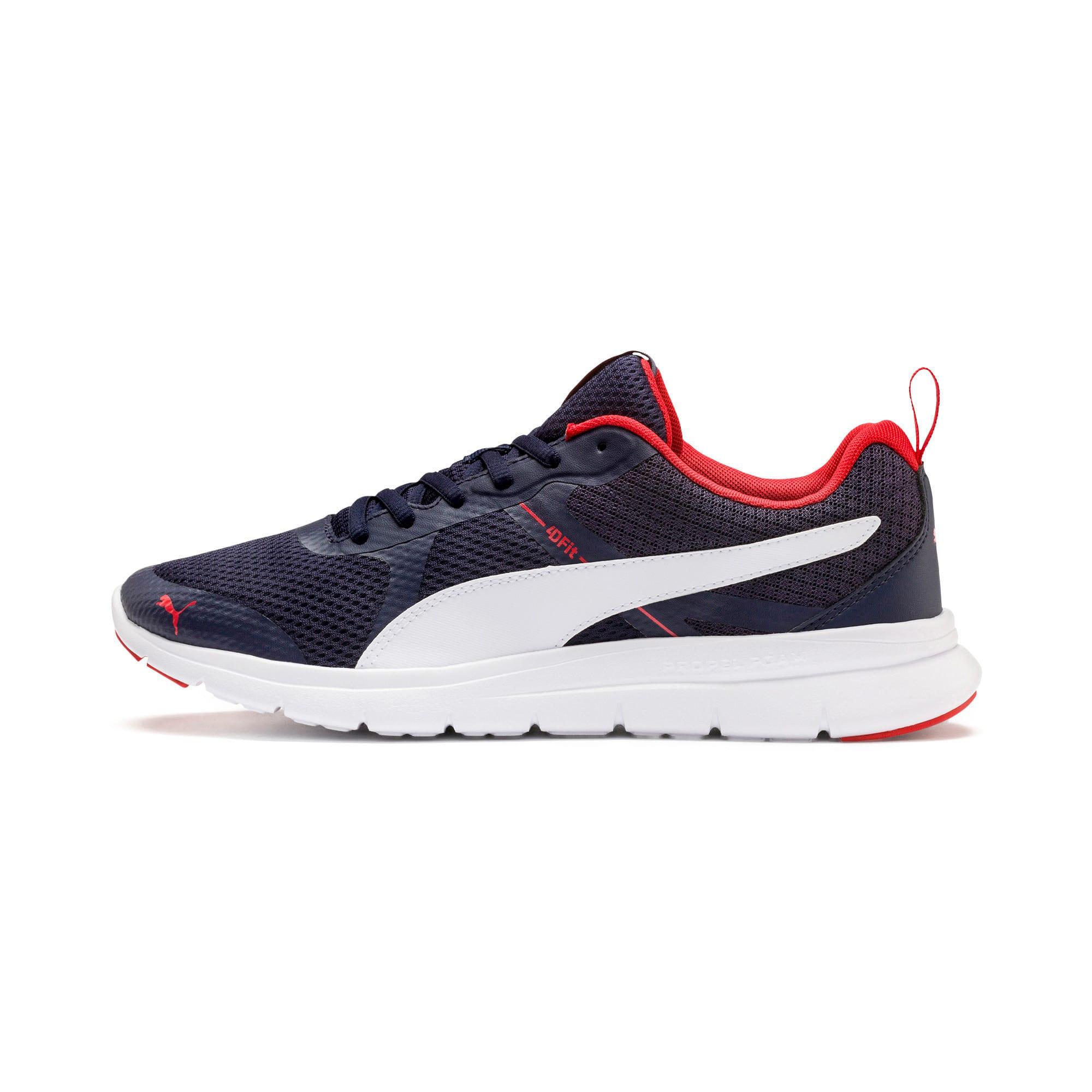 Thumbnail 1 of Flex Essential Training Shoes, Peacoat-P.White-Hi. Risk Red, medium-IND