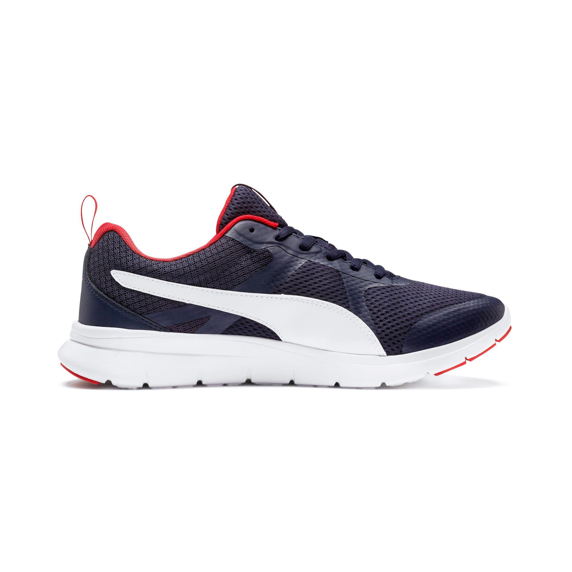 Thumbnail 6 of Flex Essential Training Shoes, Peacoat-P.White-Hi. Risk Red, medium-IND