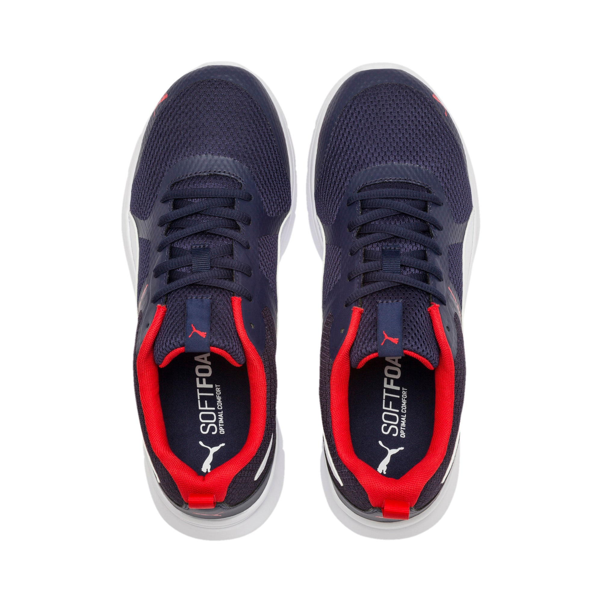 Thumbnail 7 of Flex Essential Training Shoes, Peacoat-P.White-Hi. Risk Red, medium-IND