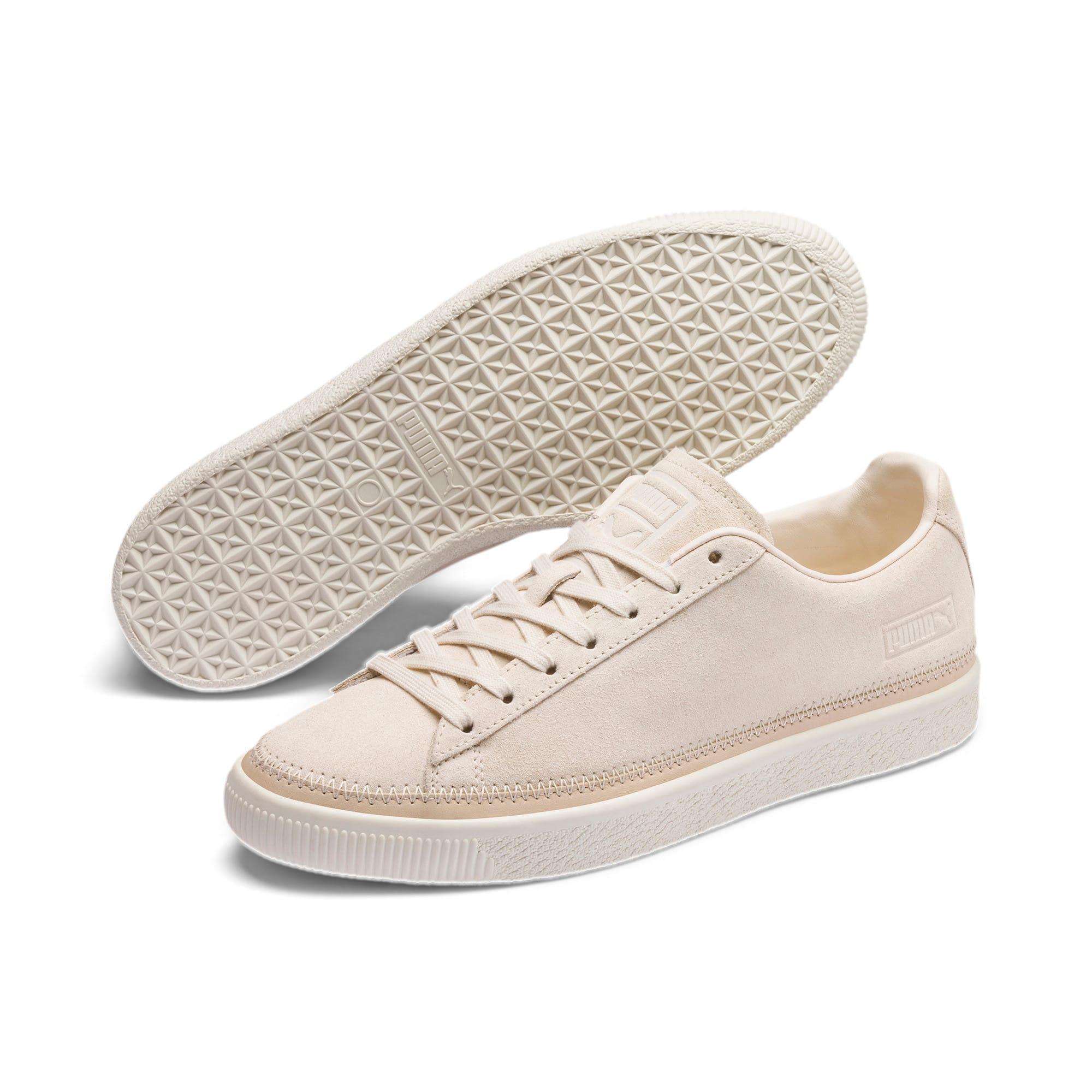 Miniatura 2 de Zapatos deportivos Suede Trim PRM, White Smoke-Whisper White, mediano
