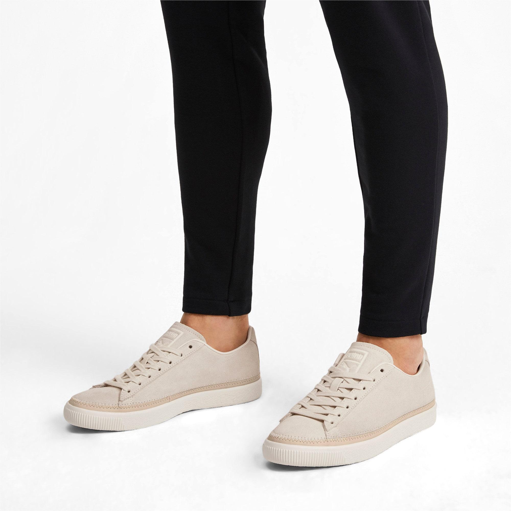 Miniatura 3 de Zapatos deportivos Suede Trim PRM, White Smoke-Whisper White, mediano