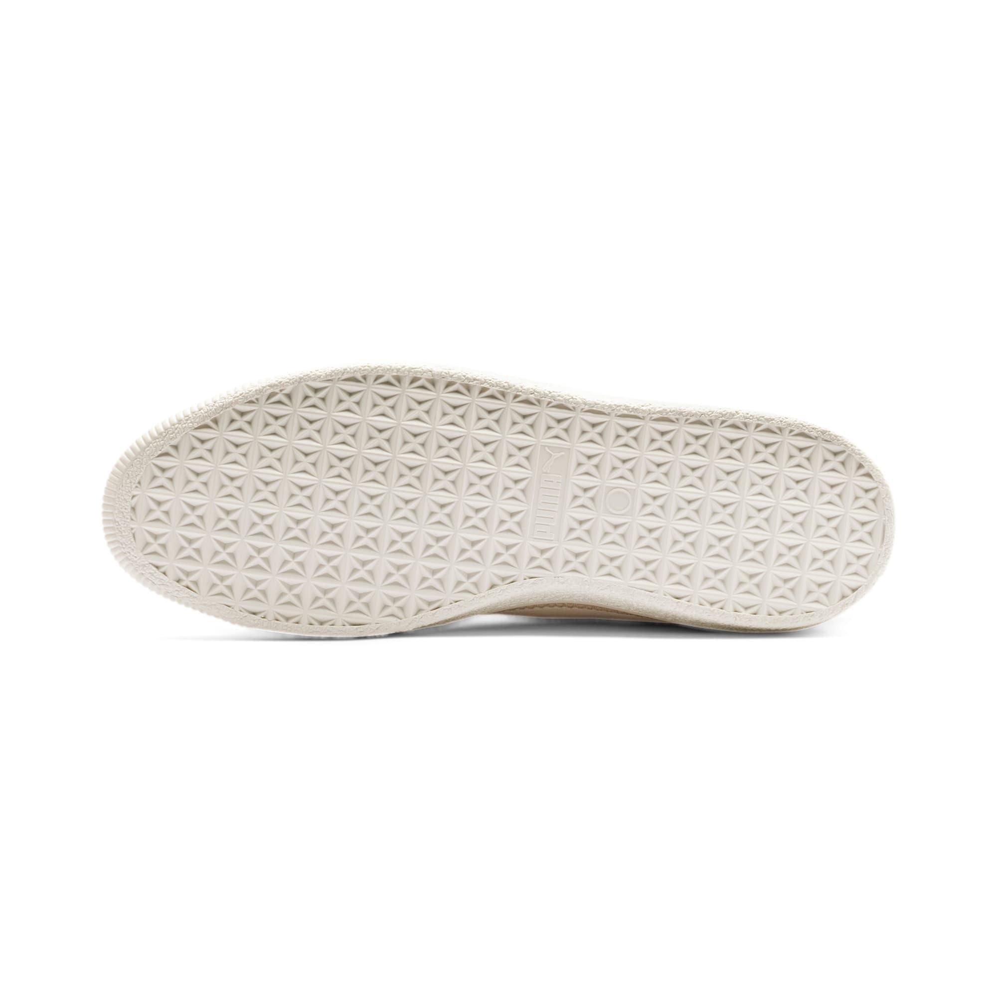 Miniatura 4 de Zapatos deportivos Suede Trim PRM, White Smoke-Whisper White, mediano