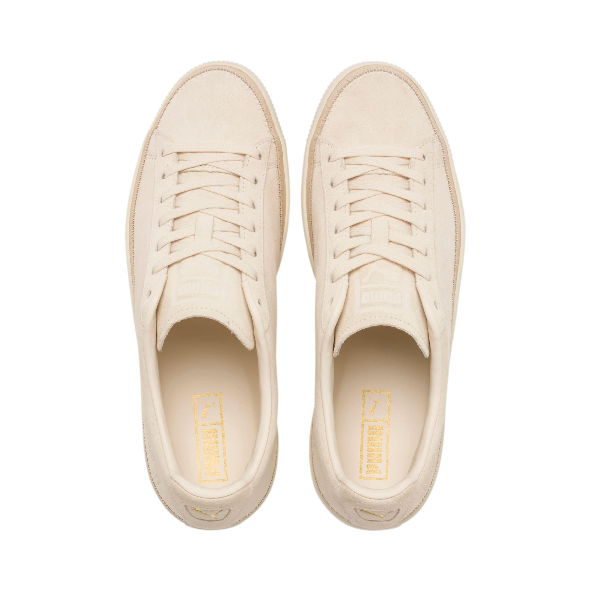 Miniatura 7 de Zapatos deportivos Suede Trim PRM, White Smoke-Whisper White, mediano