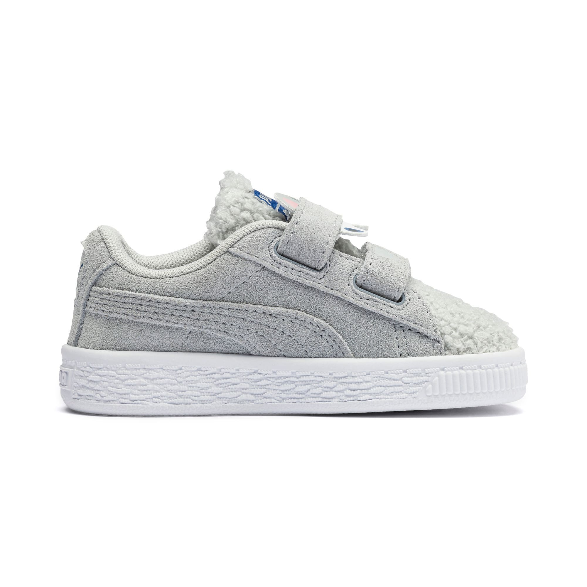 Thumbnail 5 of Suede Winter Monster Babies' Trainers, High Rise-Galaxy Blue, medium