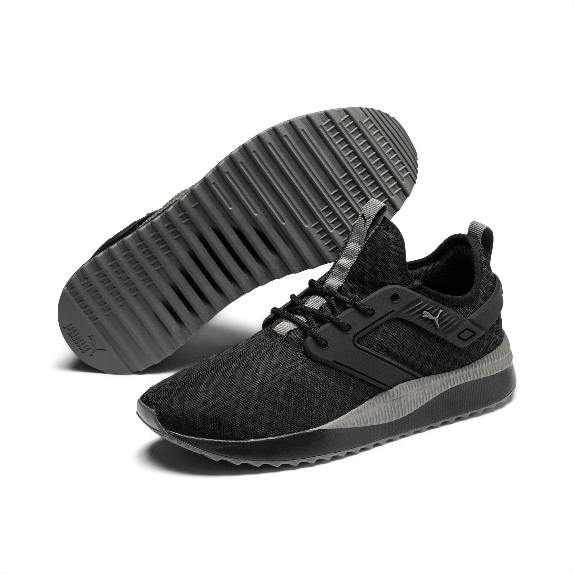 Pacer Next Excel Core Sneakers, Puma Black-Charcoal Gray, extralarge