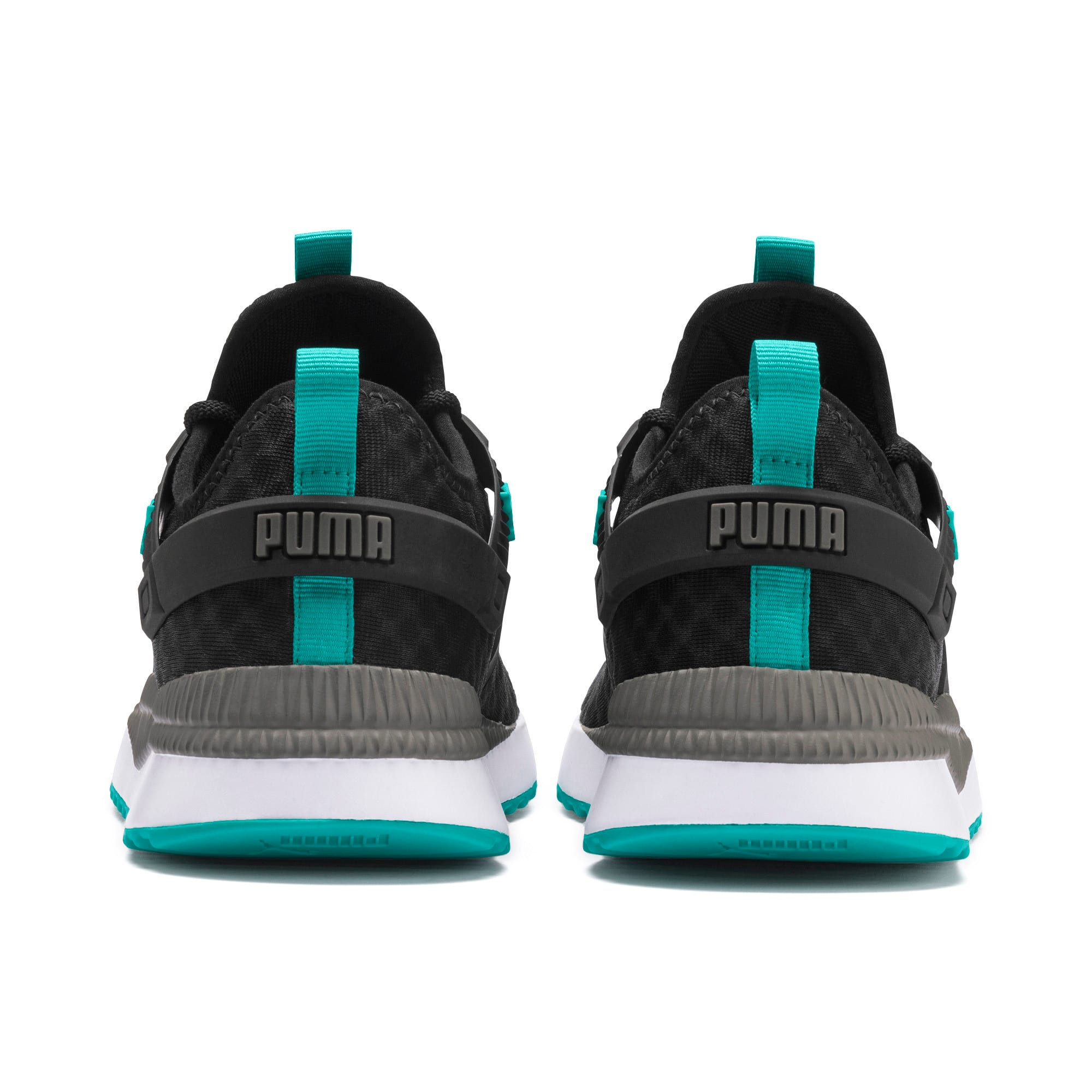 Thumbnail 4 of Pacer Next Excel Running Shoes, Puma Black-Blue Turquoise, medium