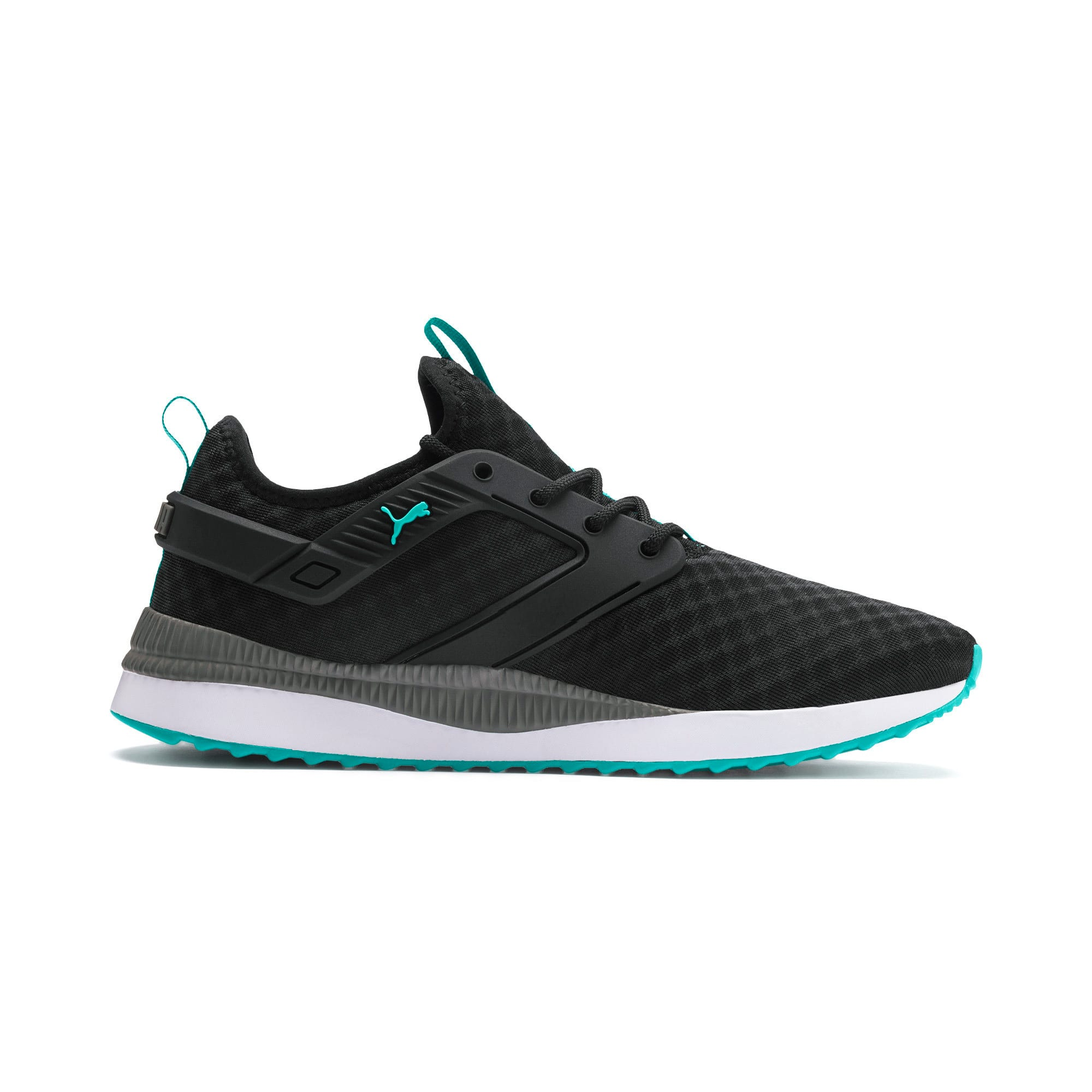 Thumbnail 6 of Pacer Next Excel Running Shoes, Puma Black-Blue Turquoise, medium