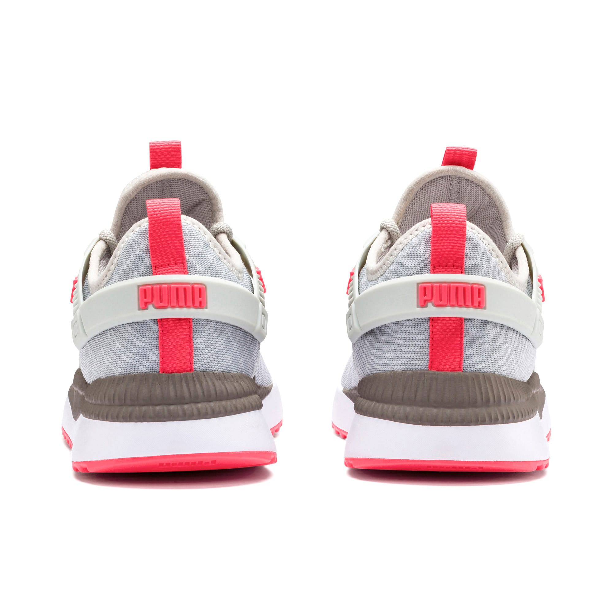 Thumbnail 4 of Pacer Next Excel Running Shoes, Gray Violet-Calypso Coral, medium