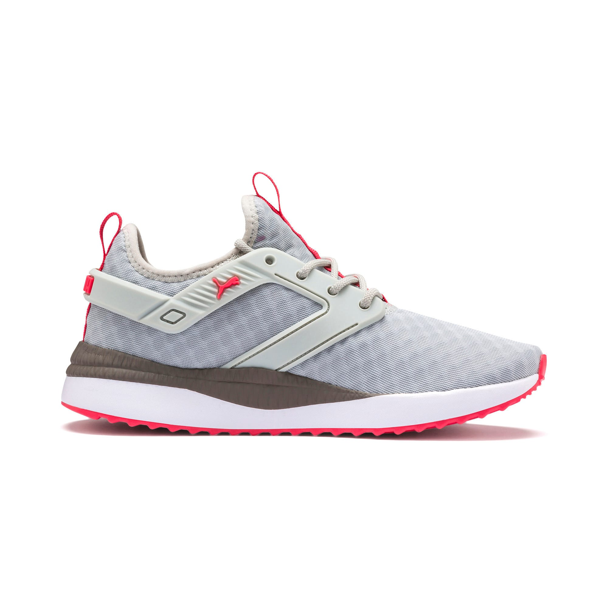 Thumbnail 6 of Pacer Next Excel Running Shoes, Gray Violet-Calypso Coral, medium