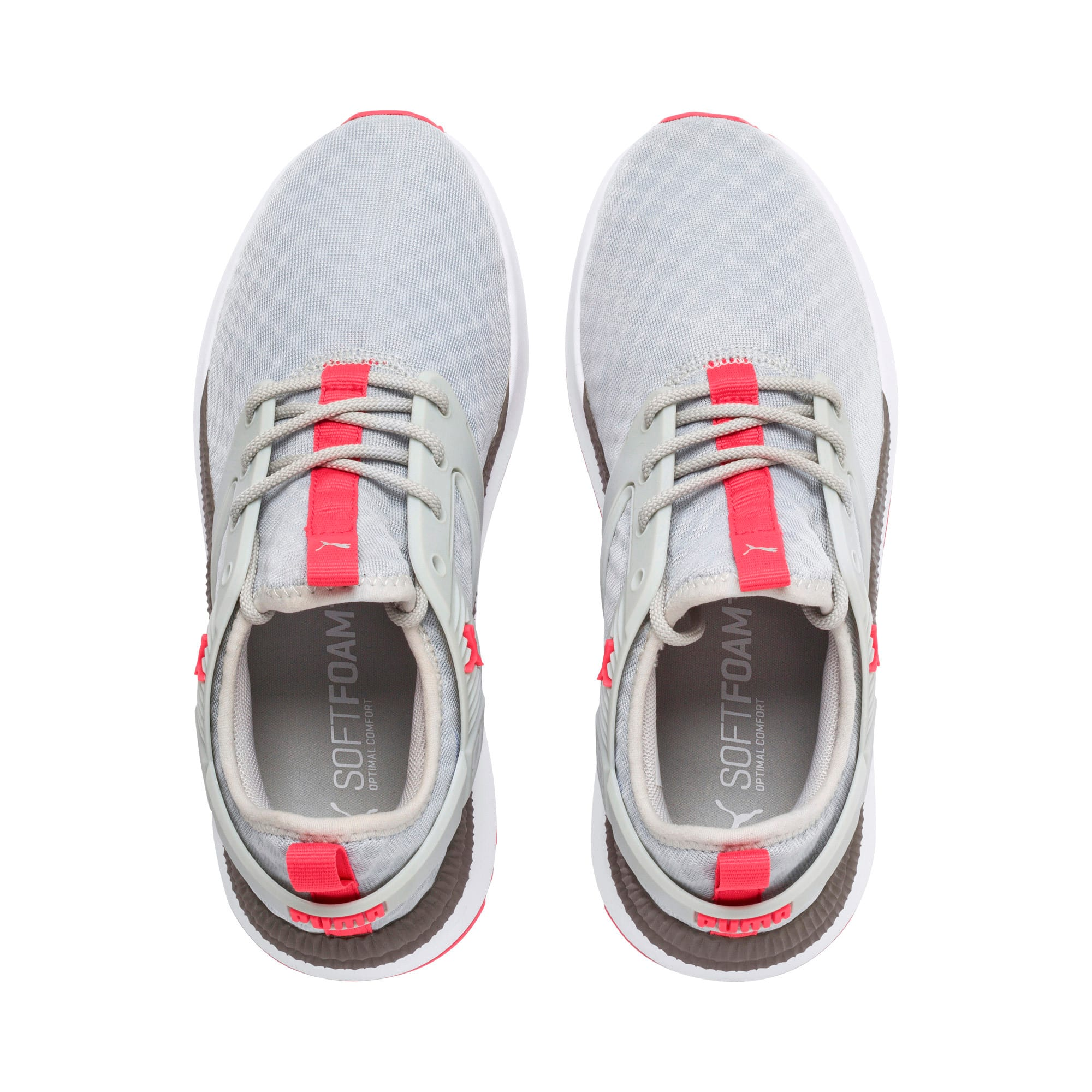 Thumbnail 7 of Pacer Next Excel Running Shoes, Gray Violet-Calypso Coral, medium