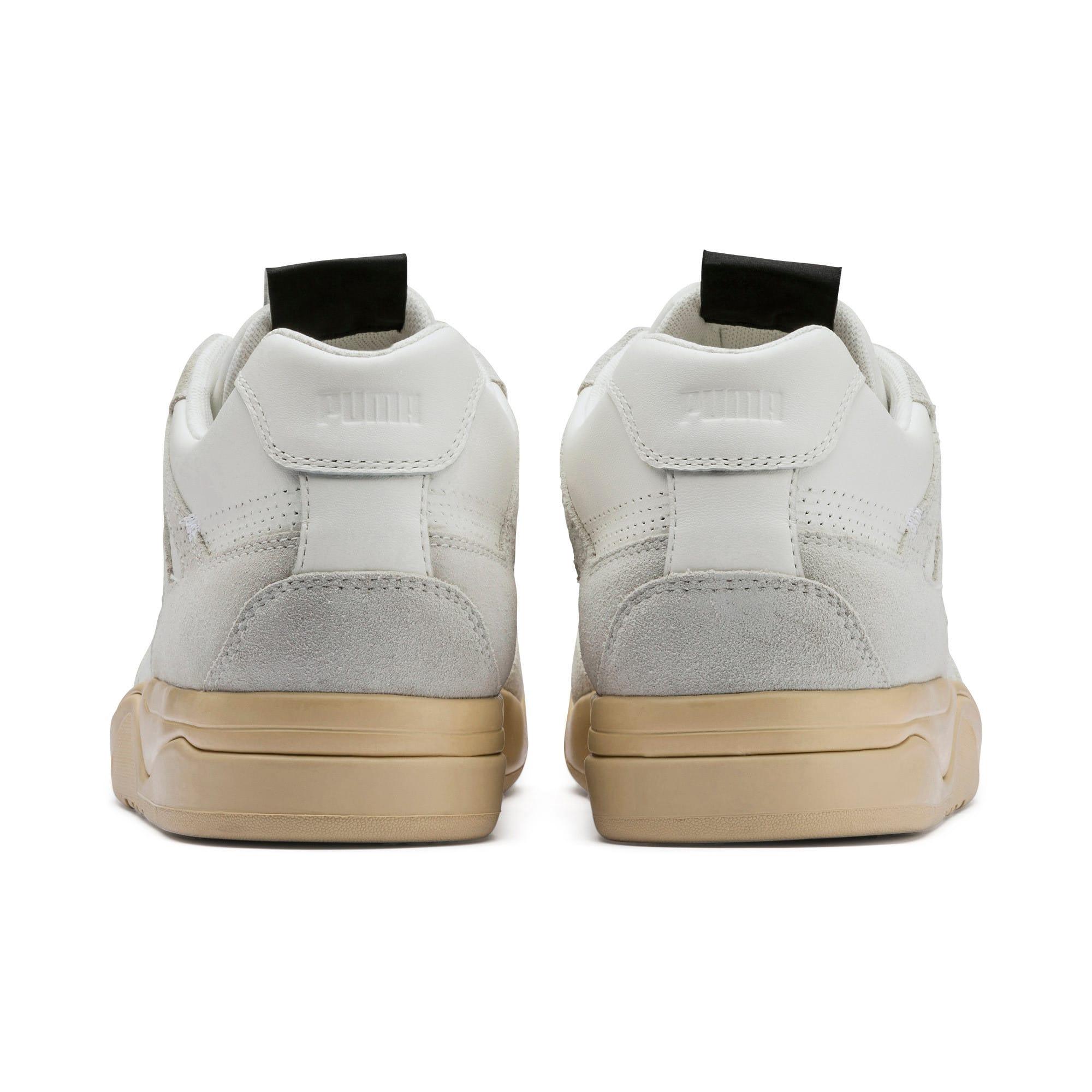 Thumbnail 3 of PUMA x RHUDE Palace Guard Sneakers, Star White-WINDCHIME, medium