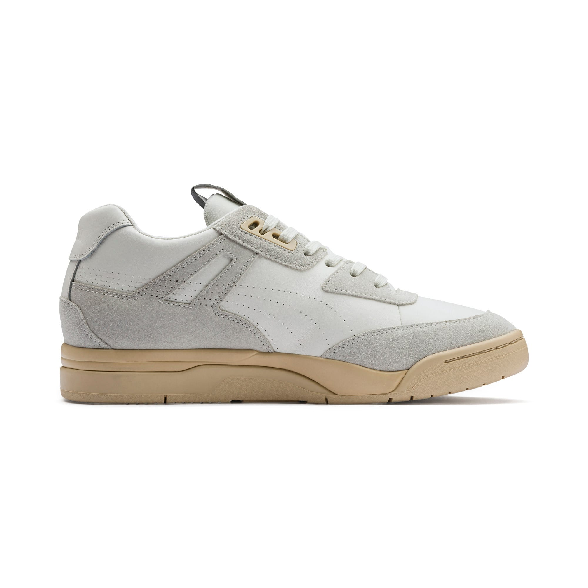 Thumbnail 5 of PUMA x RHUDE Palace Guard Sneakers, Star White-WINDCHIME, medium