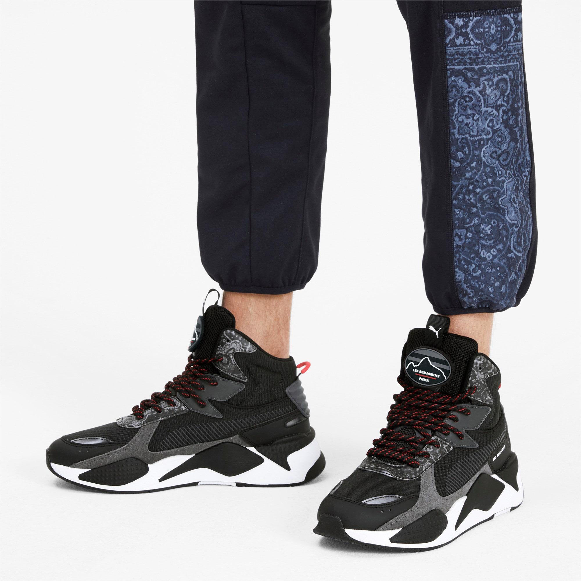 Thumbnail 2 van PUMA x LES BENJAMINS RS-X Mid sportschoenen, Puma Black, medium
