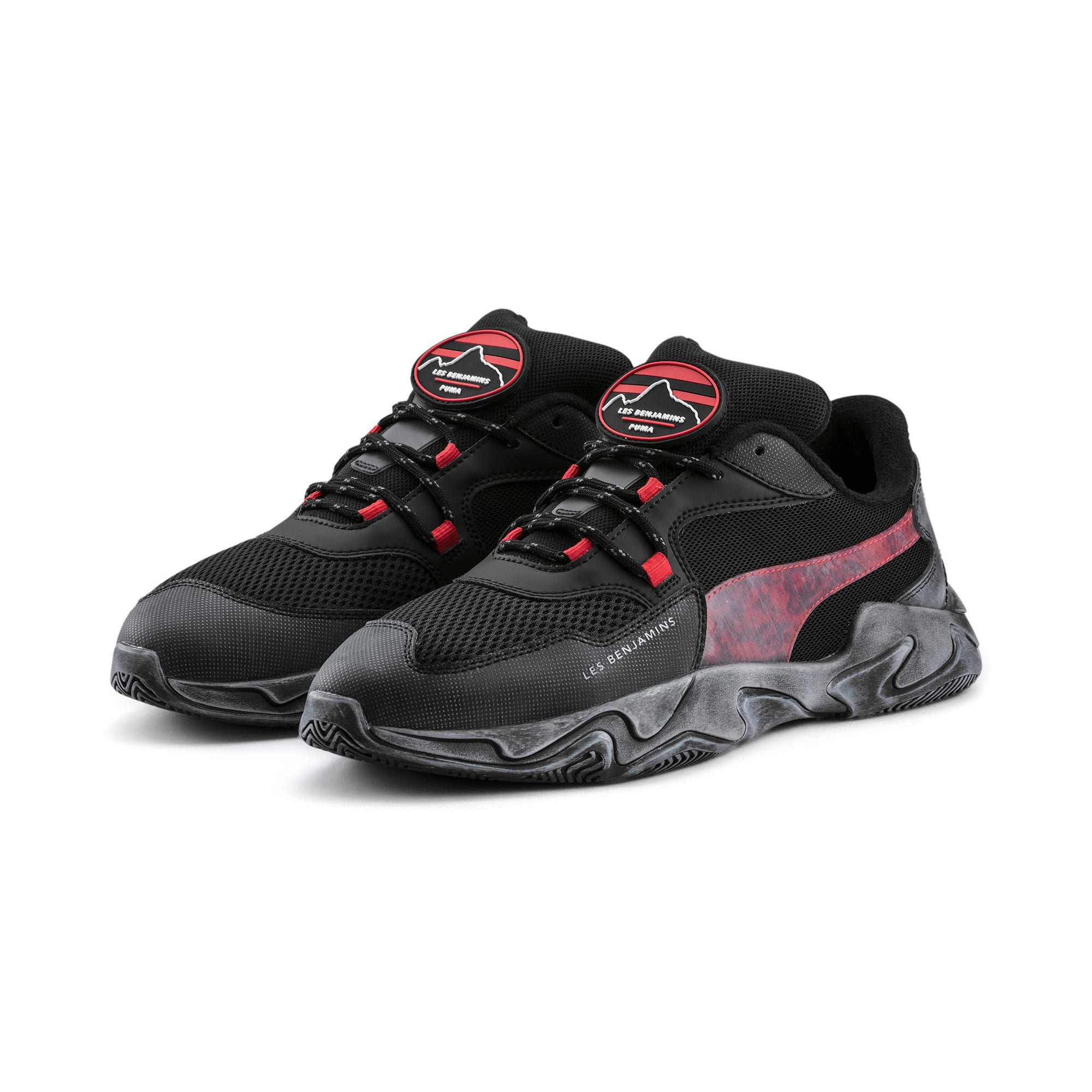Thumbnail 3 of PUMA x LES BENJAMINS Storm Trainers, Puma Black, medium