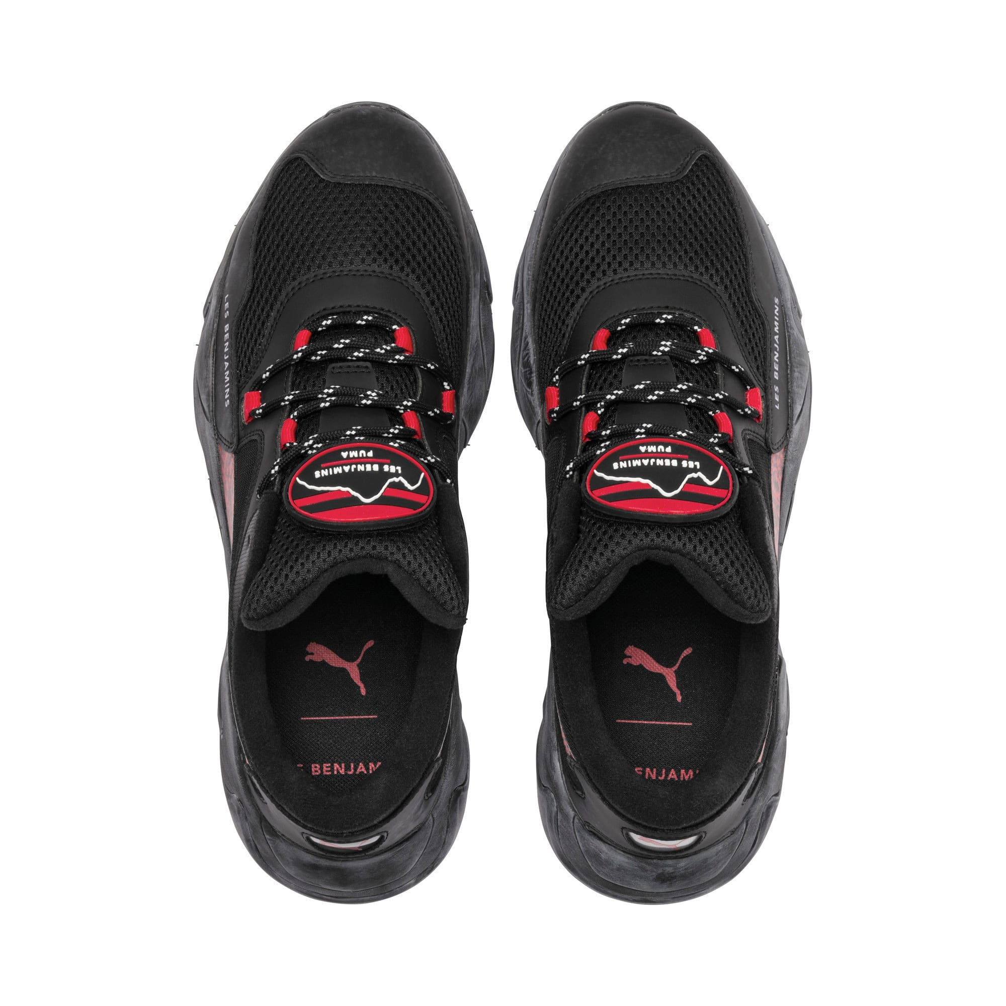 Thumbnail 7 of PUMA x LES BENJAMINS Storm Trainers, Puma Black, medium
