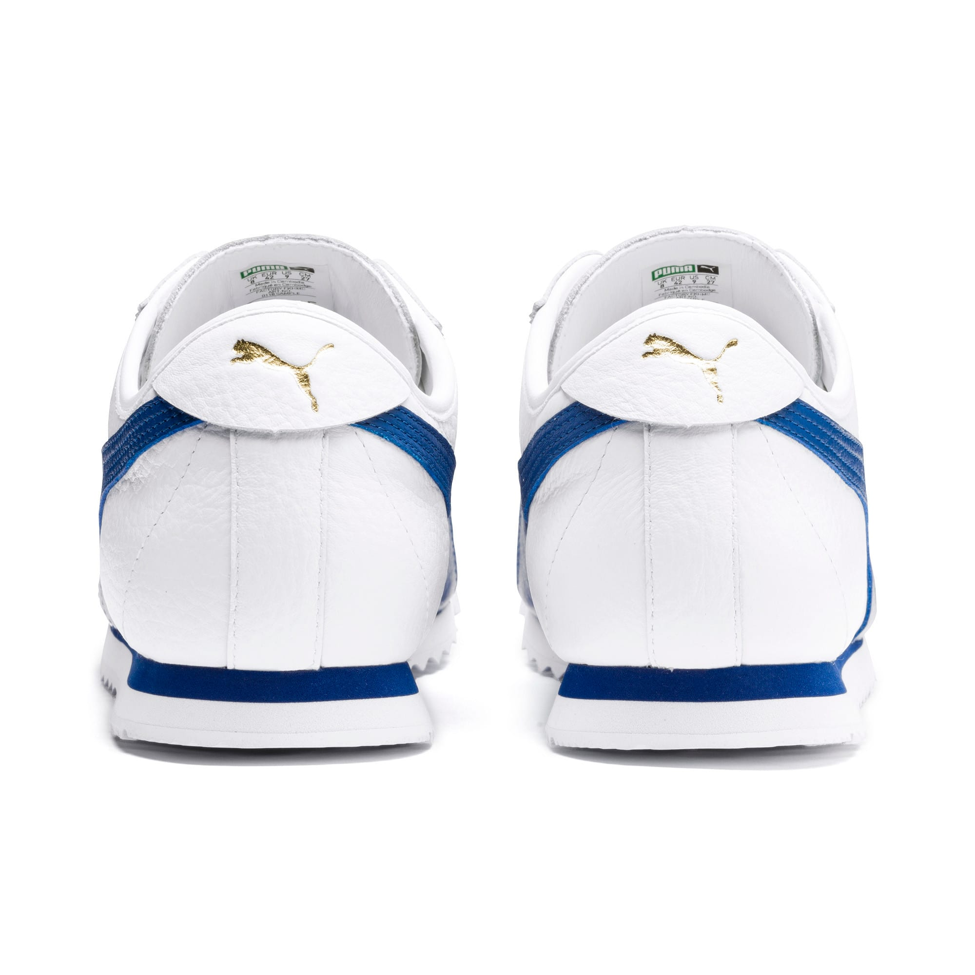 Miniatura 5 de Zapatos deportivos Roma '68 Vintage, Puma White-Galaxy Blue, mediano