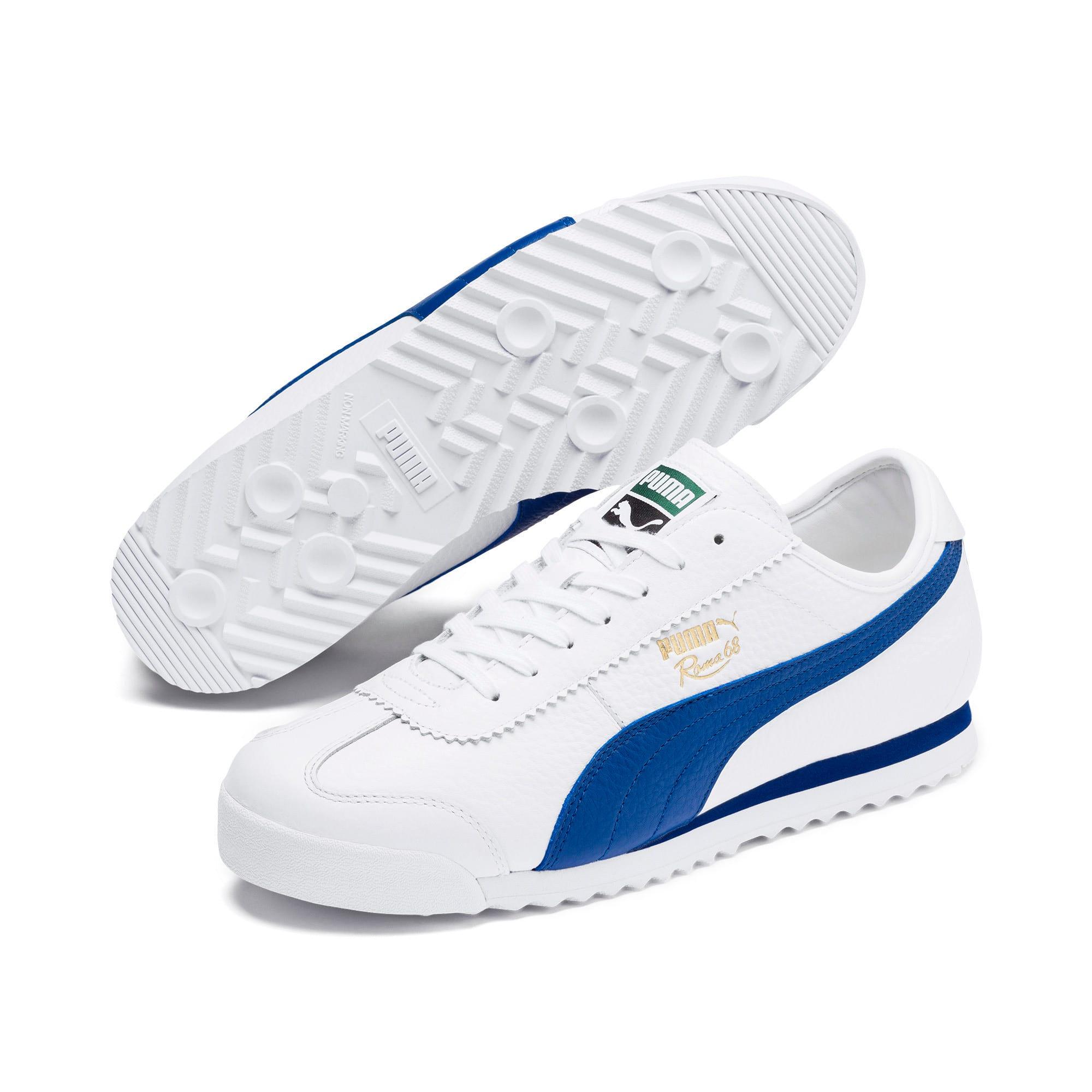 Miniatura 2 de Zapatos deportivos Roma '68 Vintage, Puma White-Galaxy Blue, mediano