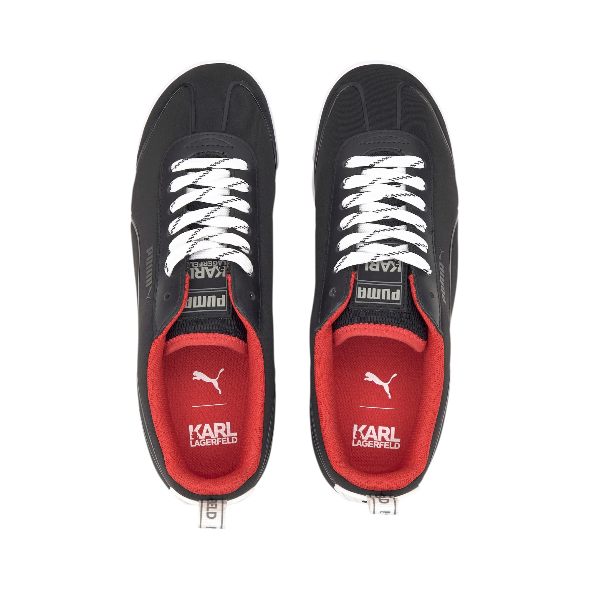 Thumbnail 7 of PUMA x KARL LAGERFELD Roma Amor Sneaker, Puma Black-Puma Black, medium