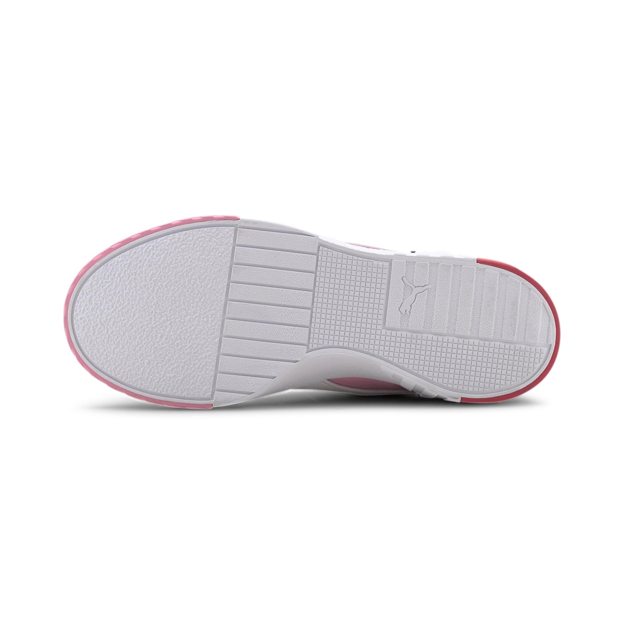 Thumbnail 5 of PUMA x KARL LAGERFELD Cali Women's Training Shoes, Puma White-PRISM PINK, medium