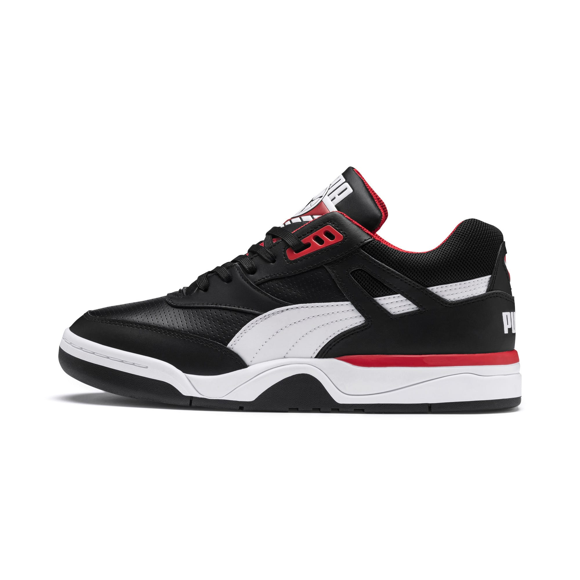 Thumbnail 1 of Palace Guard Men's Basketball Trainers, Puma Black-Puma White-red, medium