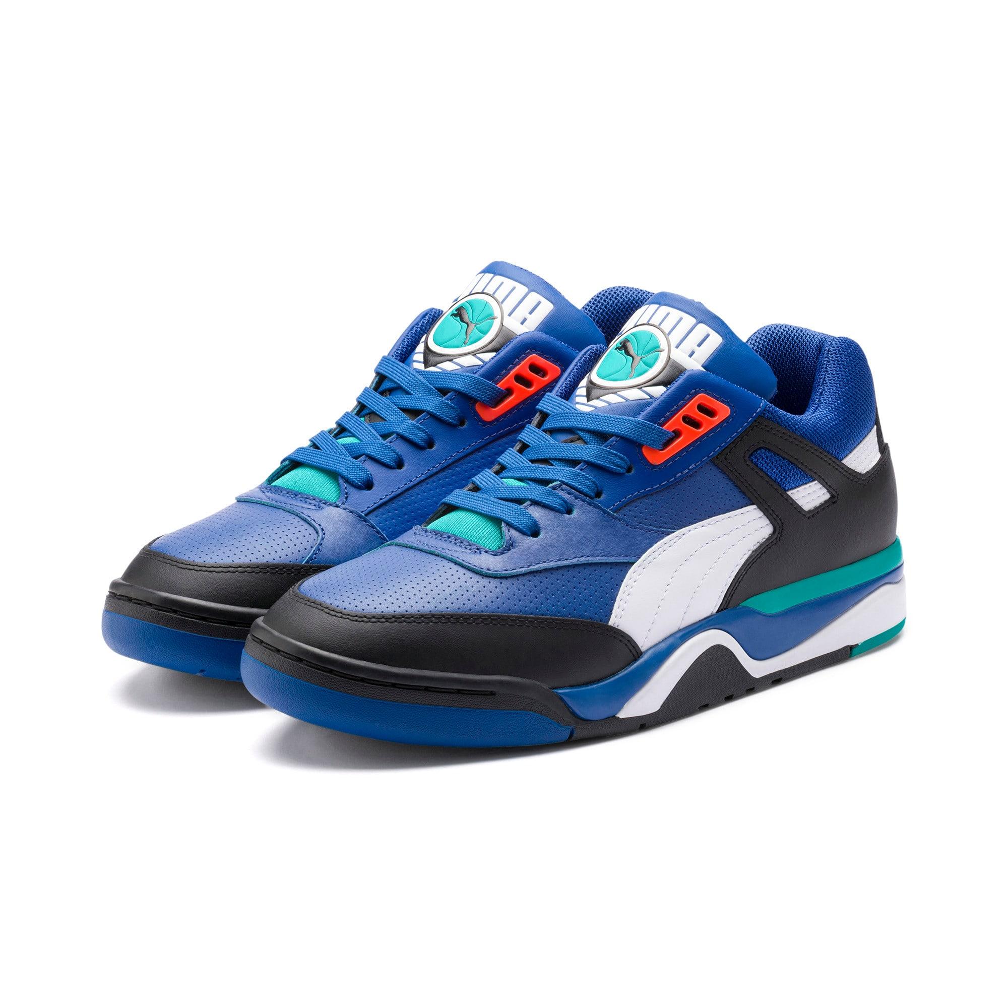Thumbnail 2 of Palace Guard Sneakers, Puma Black-Puma White-Blue, medium