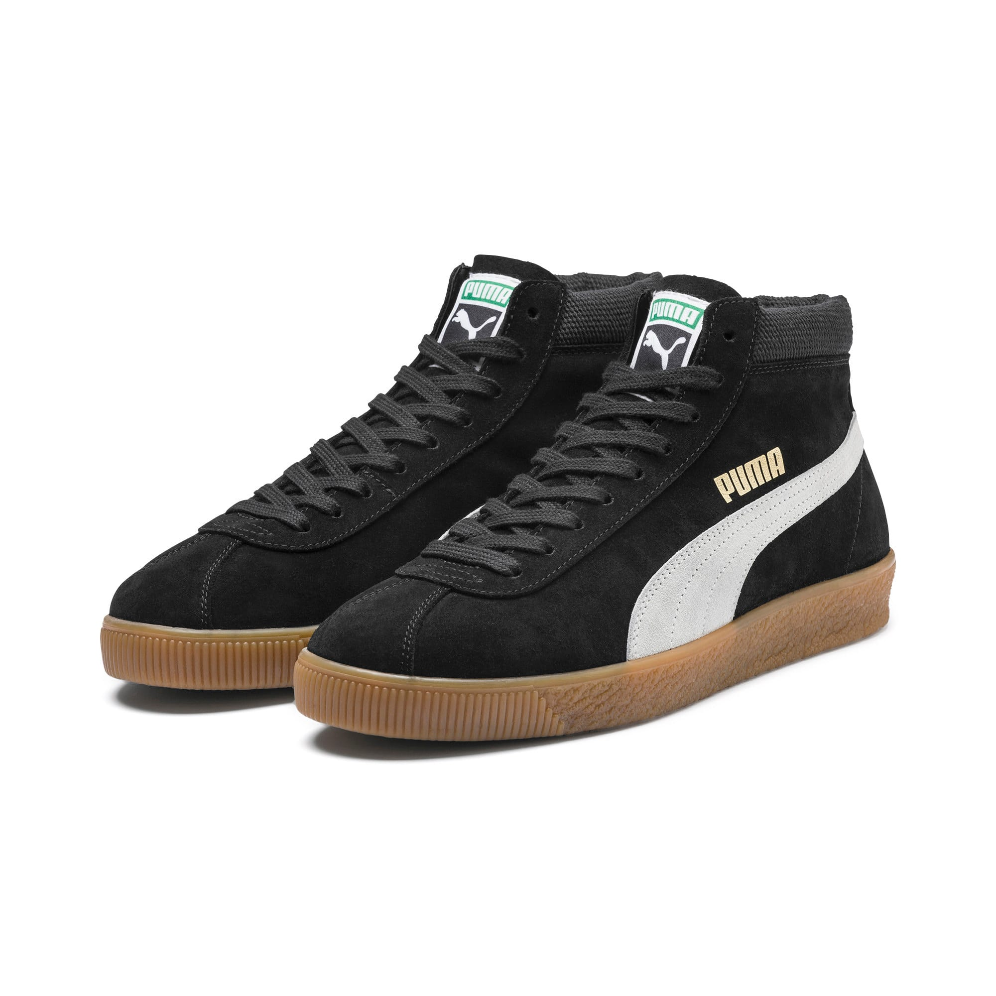 Thumbnail 2 of スウェード '68 ミッド スニーカー, Puma Black-Whisper White, medium-JPN