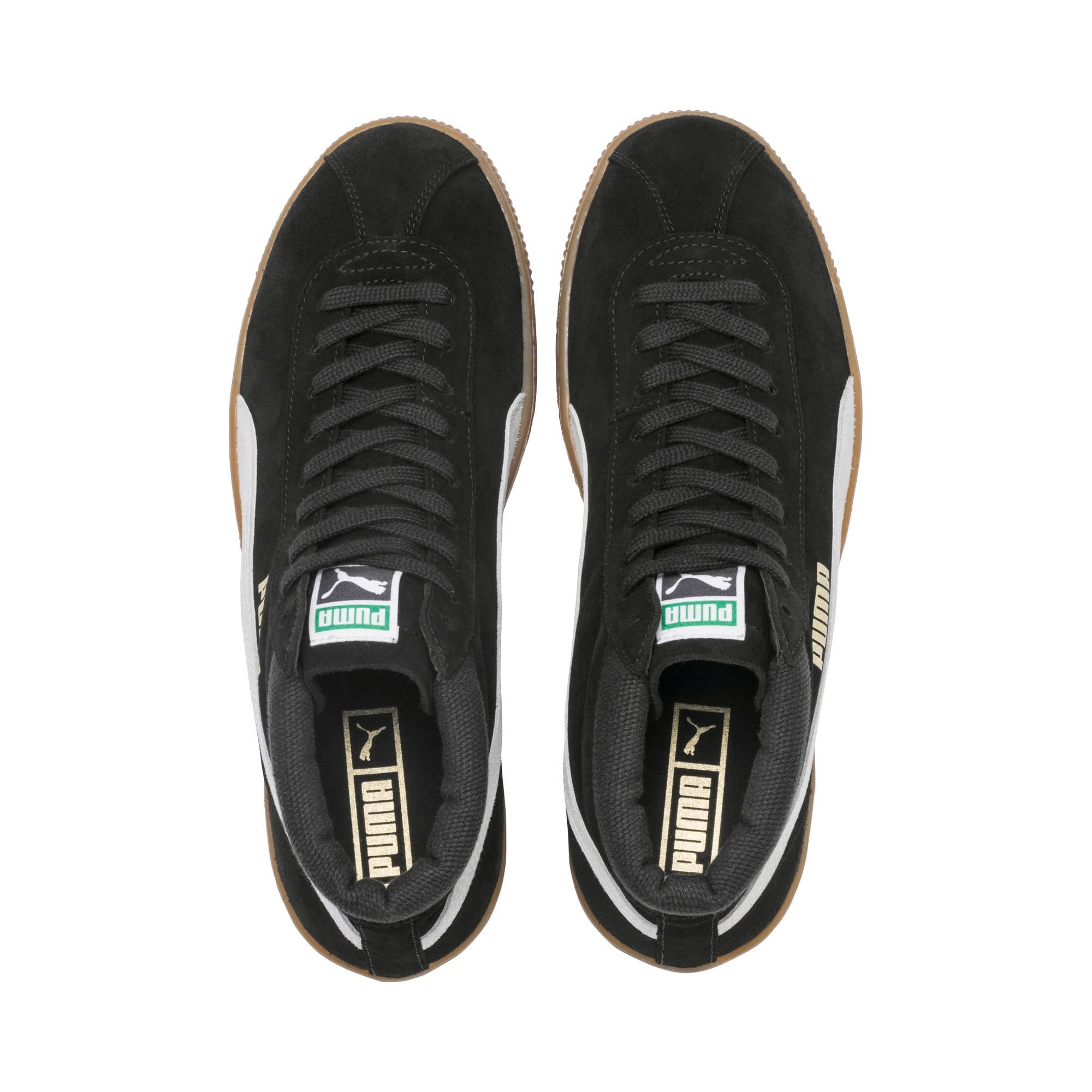 Thumbnail 7 of スウェード '68 ミッド スニーカー, Puma Black-Whisper White, medium-JPN