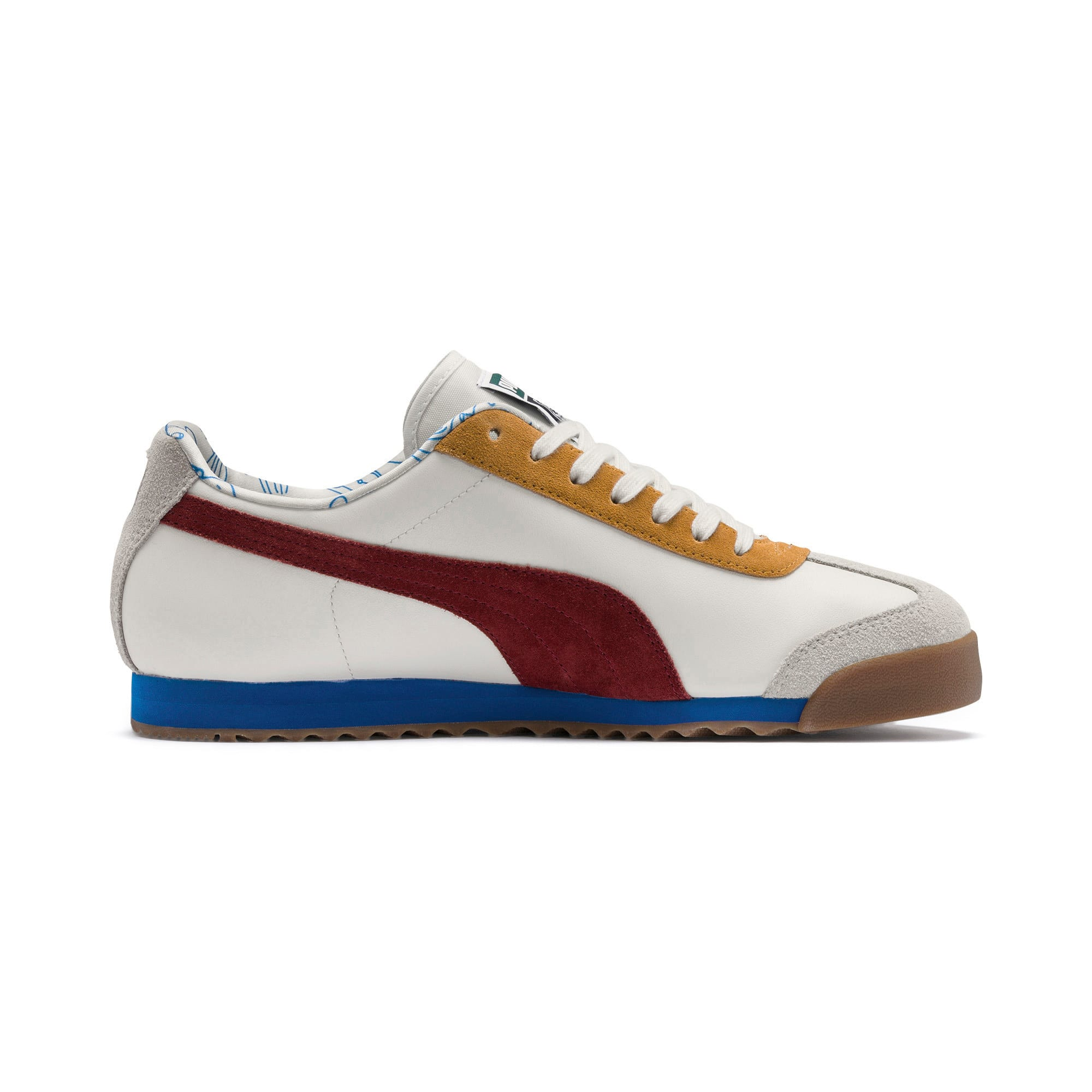 Thumbnail 7 of PUMA x TYAKASHA Roma Trainers, Marshmallow-Fired Brick, medium