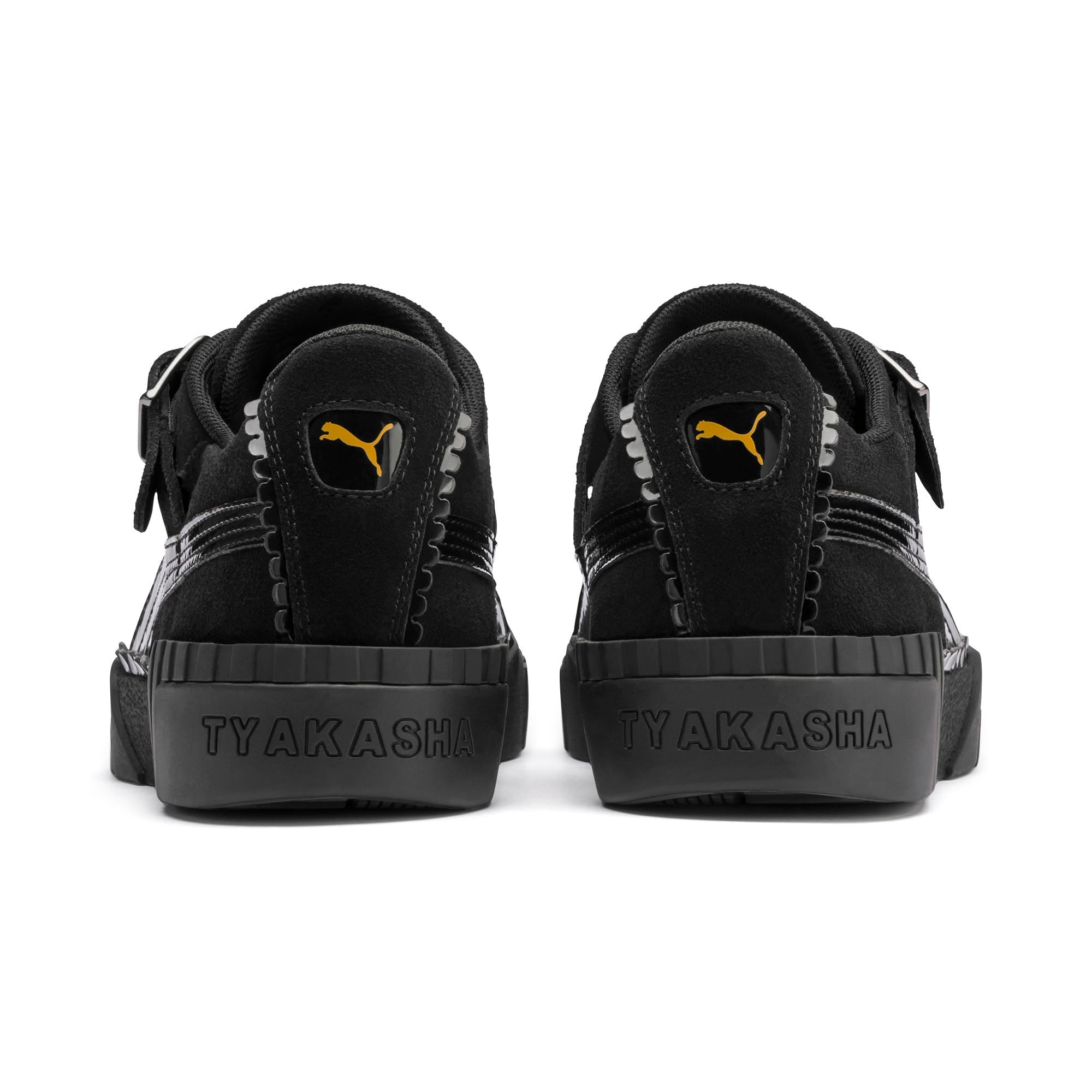 Thumbnail 4 of PUMA x TYAKASHA Cali Women's Sneakers, Puma Black, medium