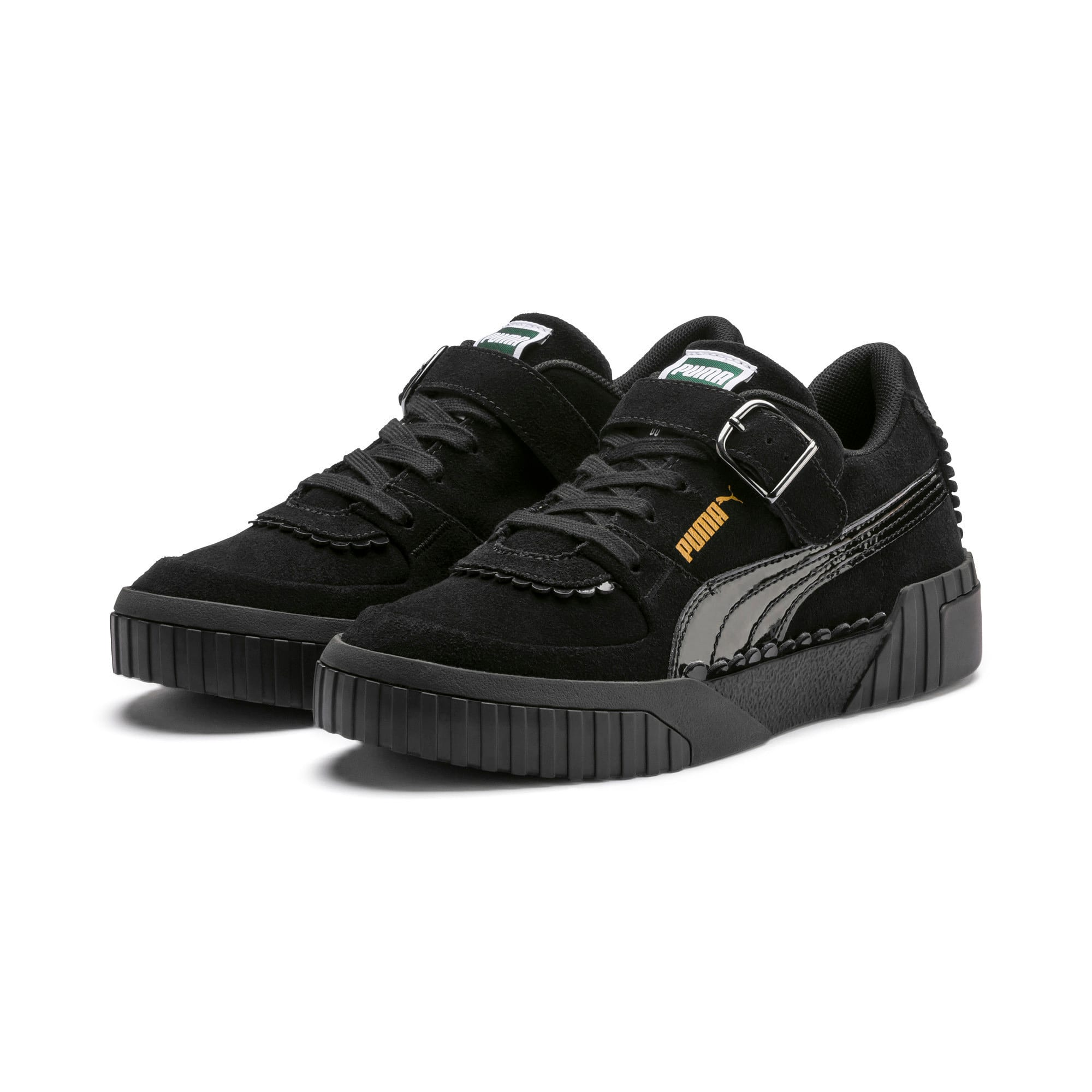 Thumbnail 8 of PUMA x TYAKASHA Cali Women's Sneakers, Puma Black, medium