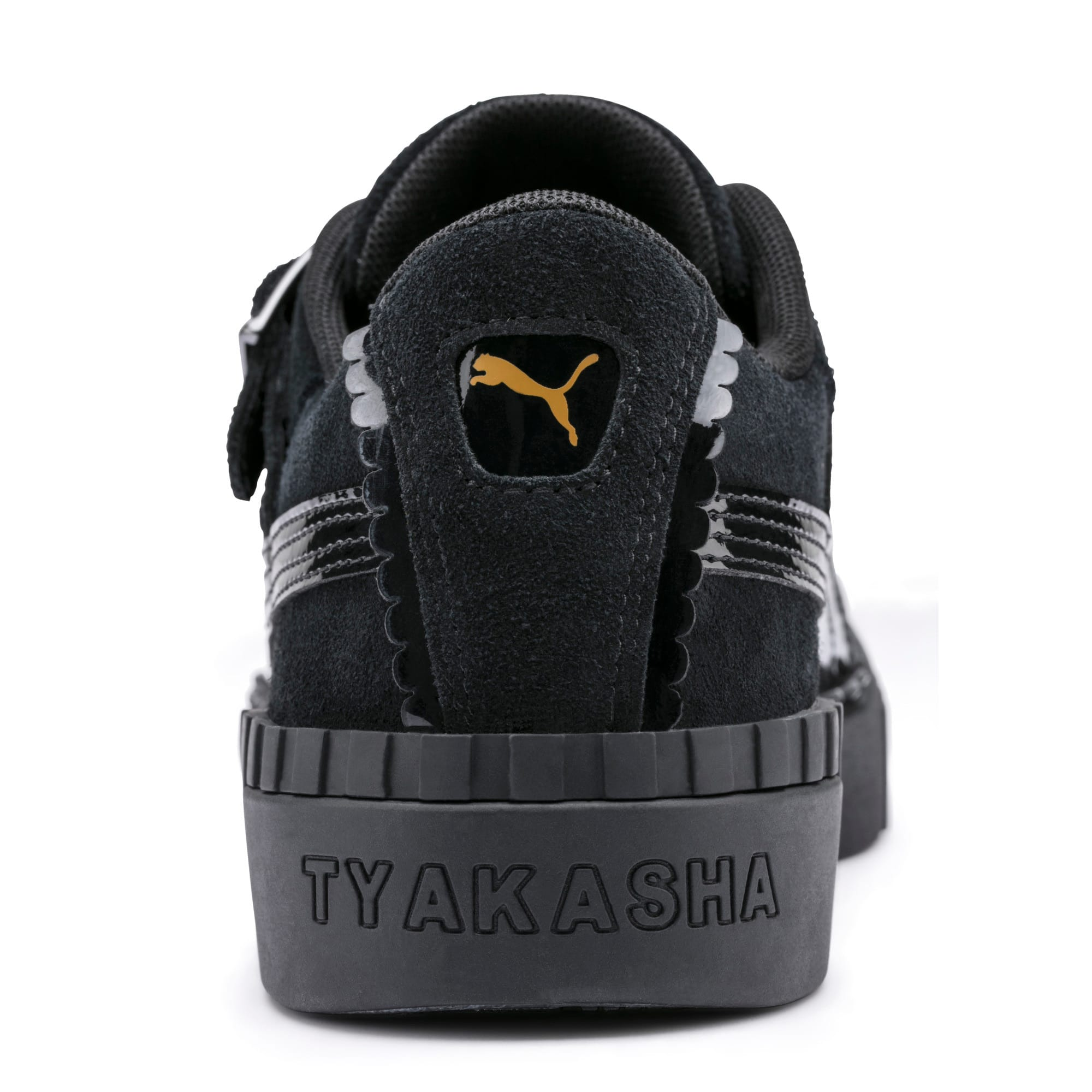 Thumbnail 9 of PUMA x TYAKASHA Cali Women's Trainers, Puma Black, medium