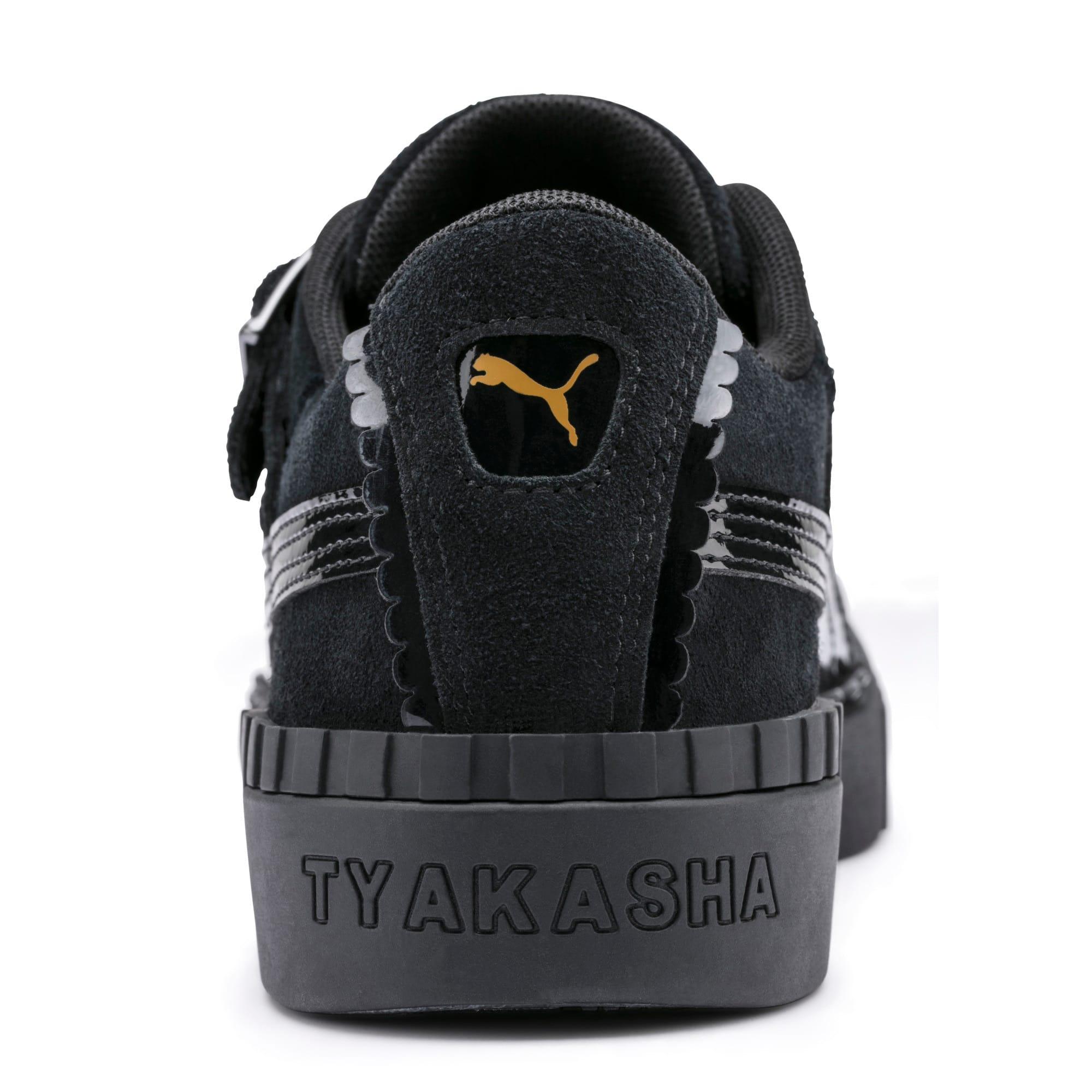 Thumbnail 9 of PUMA x TYAKASHA Cali Women's Sneakers, Puma Black, medium