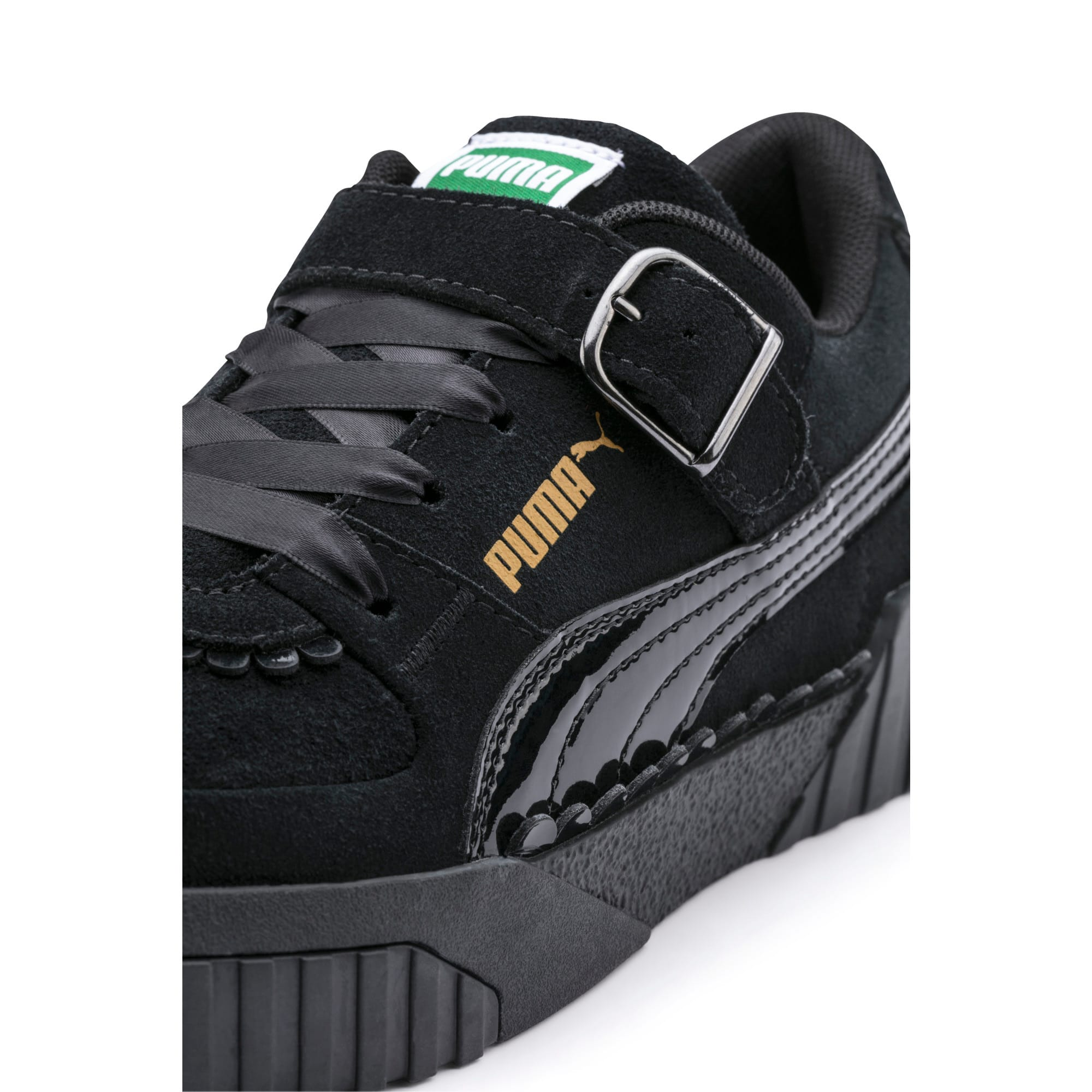 Thumbnail 10 of PUMA x TYAKASHA Cali Women's Trainers, Puma Black, medium