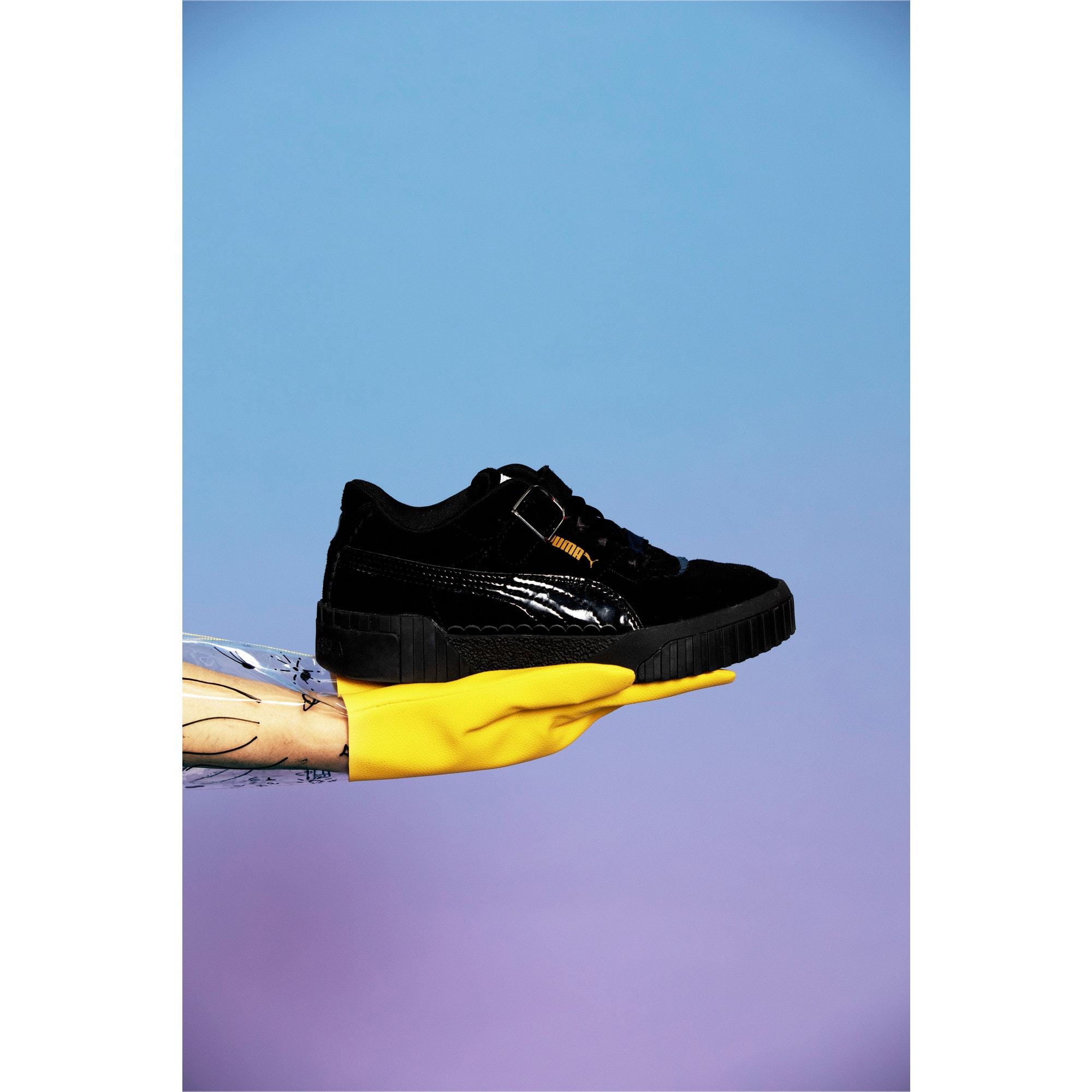 Thumbnail 11 of PUMA x TYAKASHA Cali Women's Sneakers, Puma Black, medium