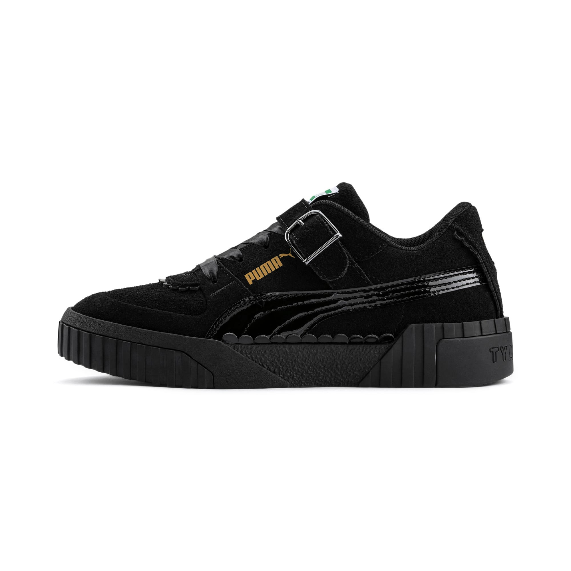 Thumbnail 1 of PUMA x TYAKASHA Cali Women's Trainers, Puma Black, medium
