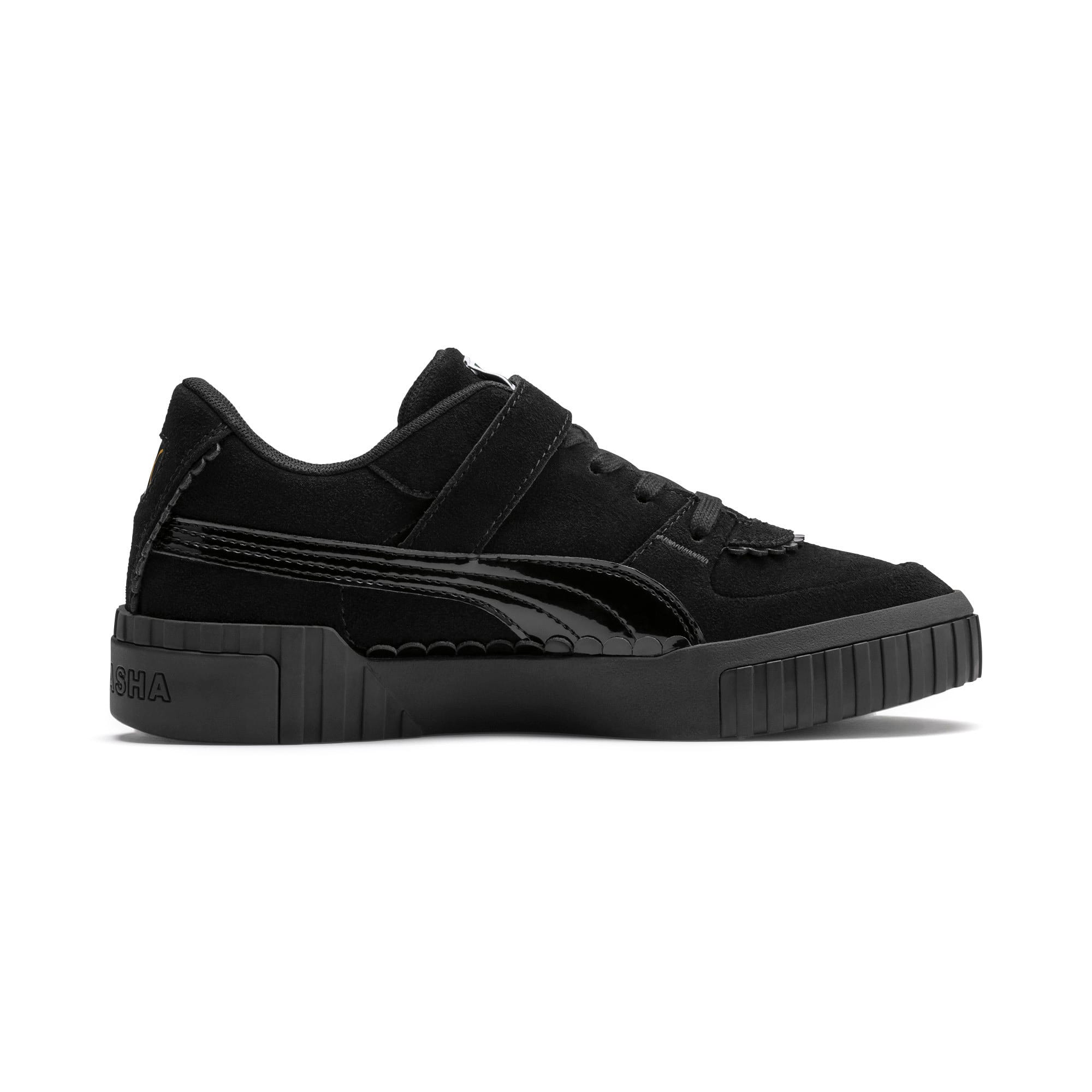 Thumbnail 6 of PUMA x TYAKASHA Cali Women's Trainers, Puma Black, medium