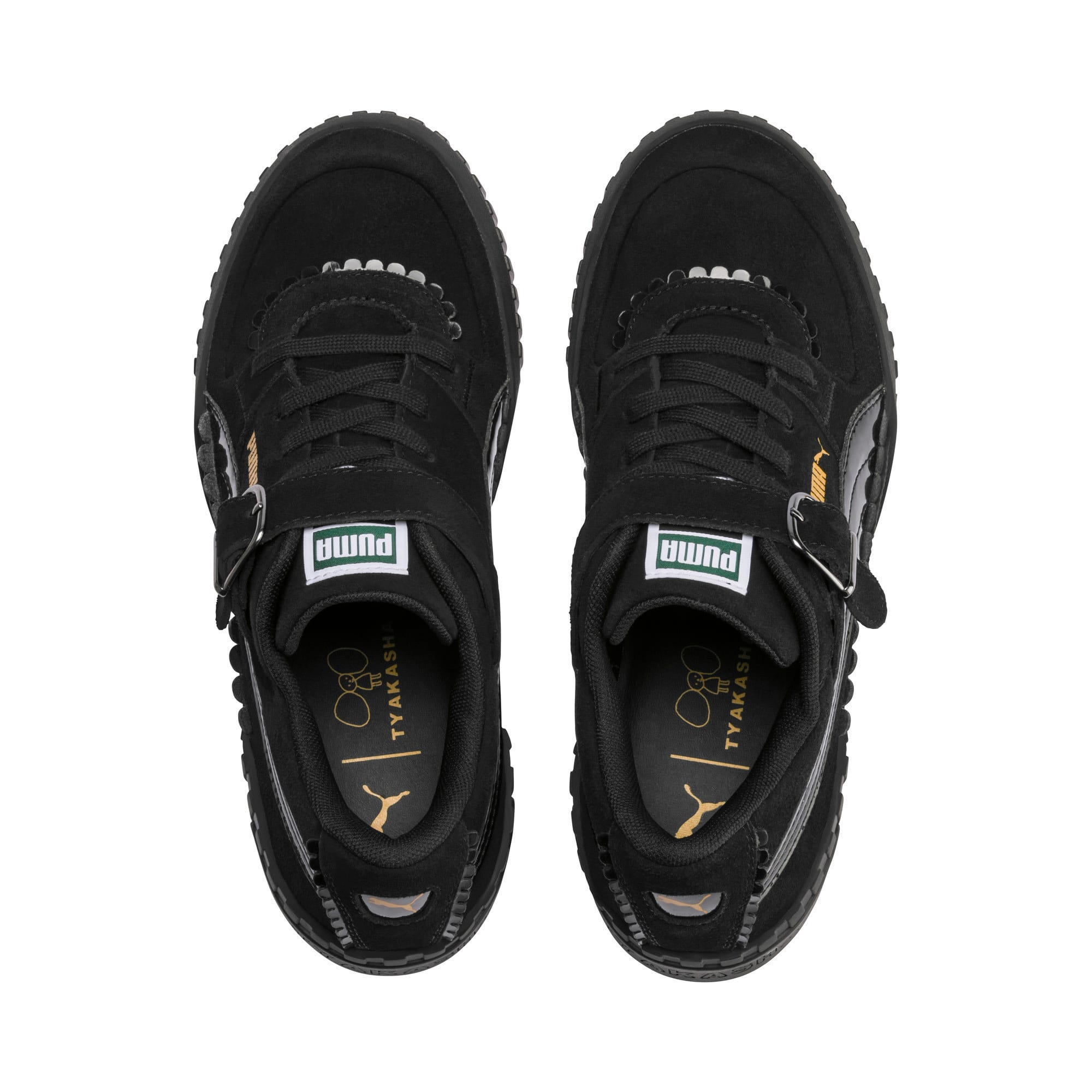 Thumbnail 7 of PUMA x TYAKASHA Cali Women's Trainers, Puma Black, medium