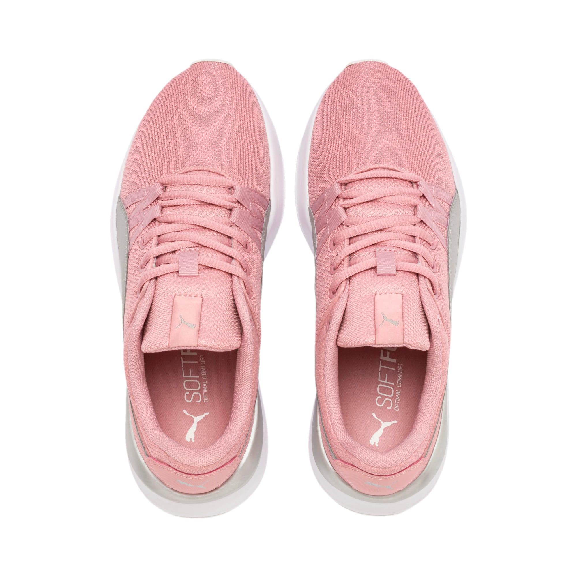 Thumbnail 6 of Adela Breathe Sneakers JR, Bridal Rose-Puma Silver, medium