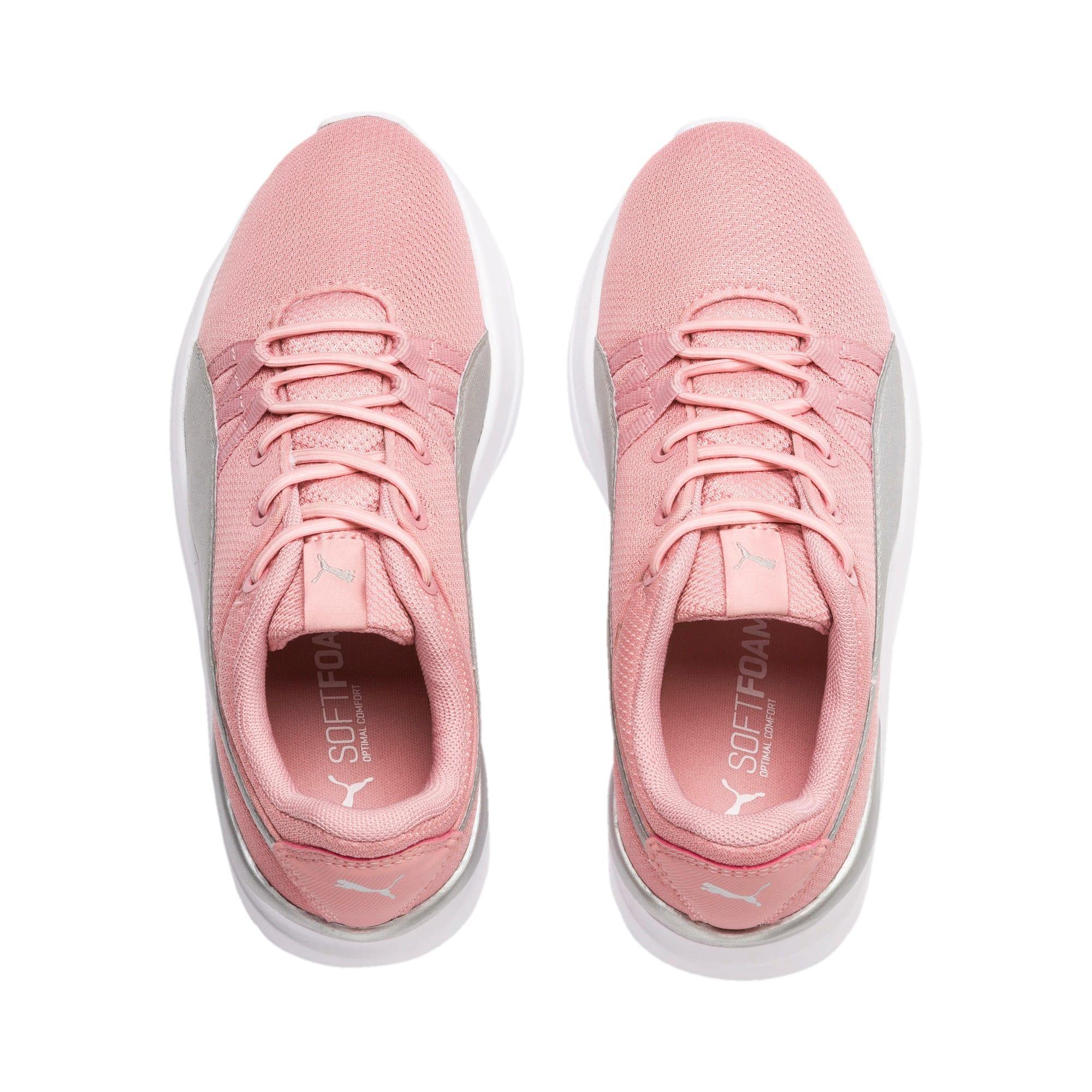 Thumbnail 6 of Adela Breathe AC Sneakers PS, Bridal Rose-Puma Silver, medium