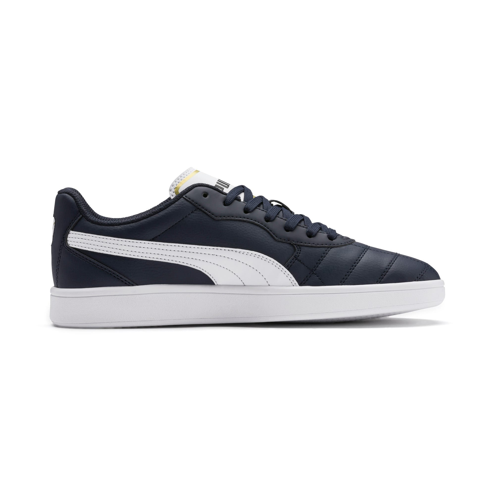 Astro Kick SL Trainers, Peacoat-Puma Team Gold-White, large-IND