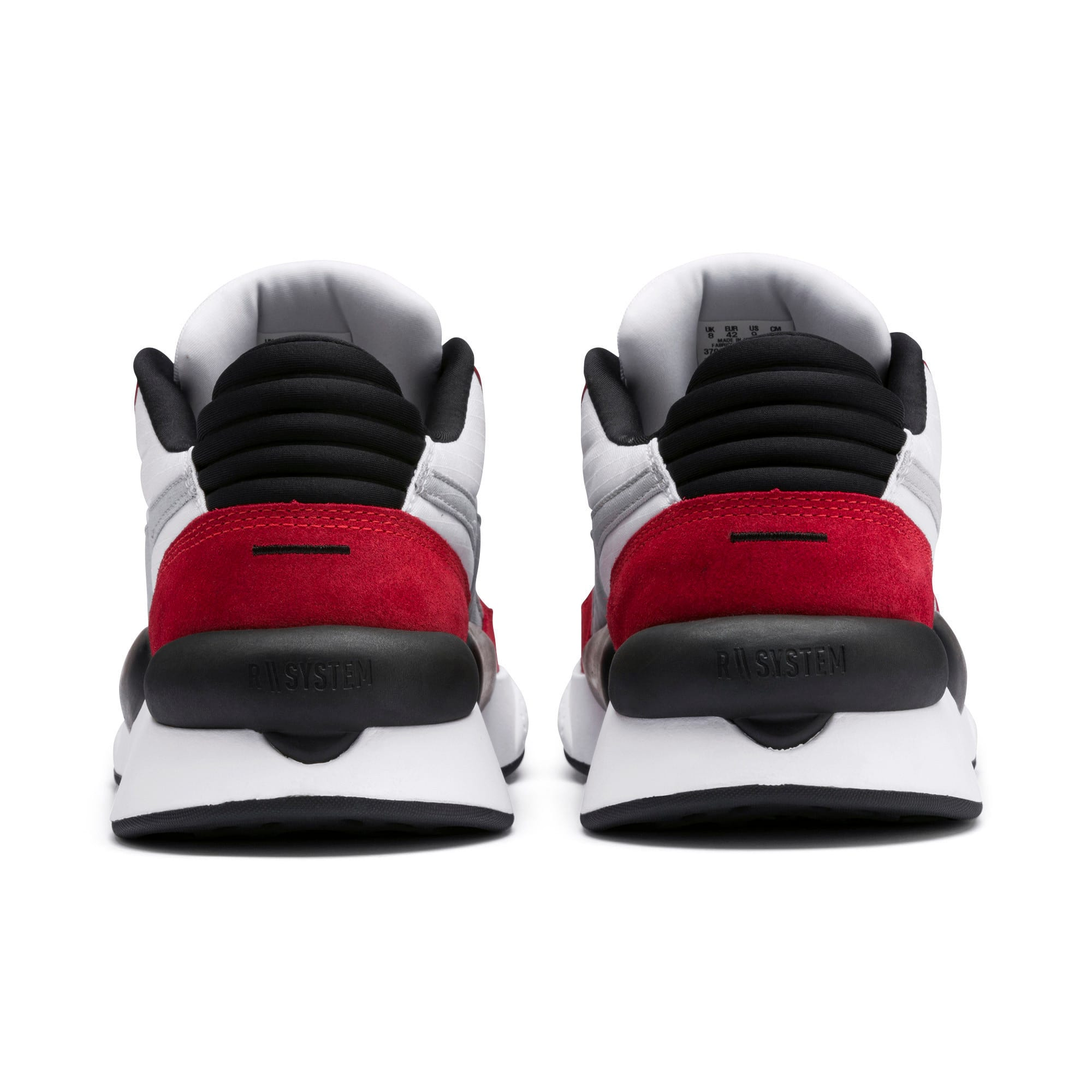 Thumbnail 5 of RS 9.8 Space Trainers, Puma White-High Risk Red, medium-IND