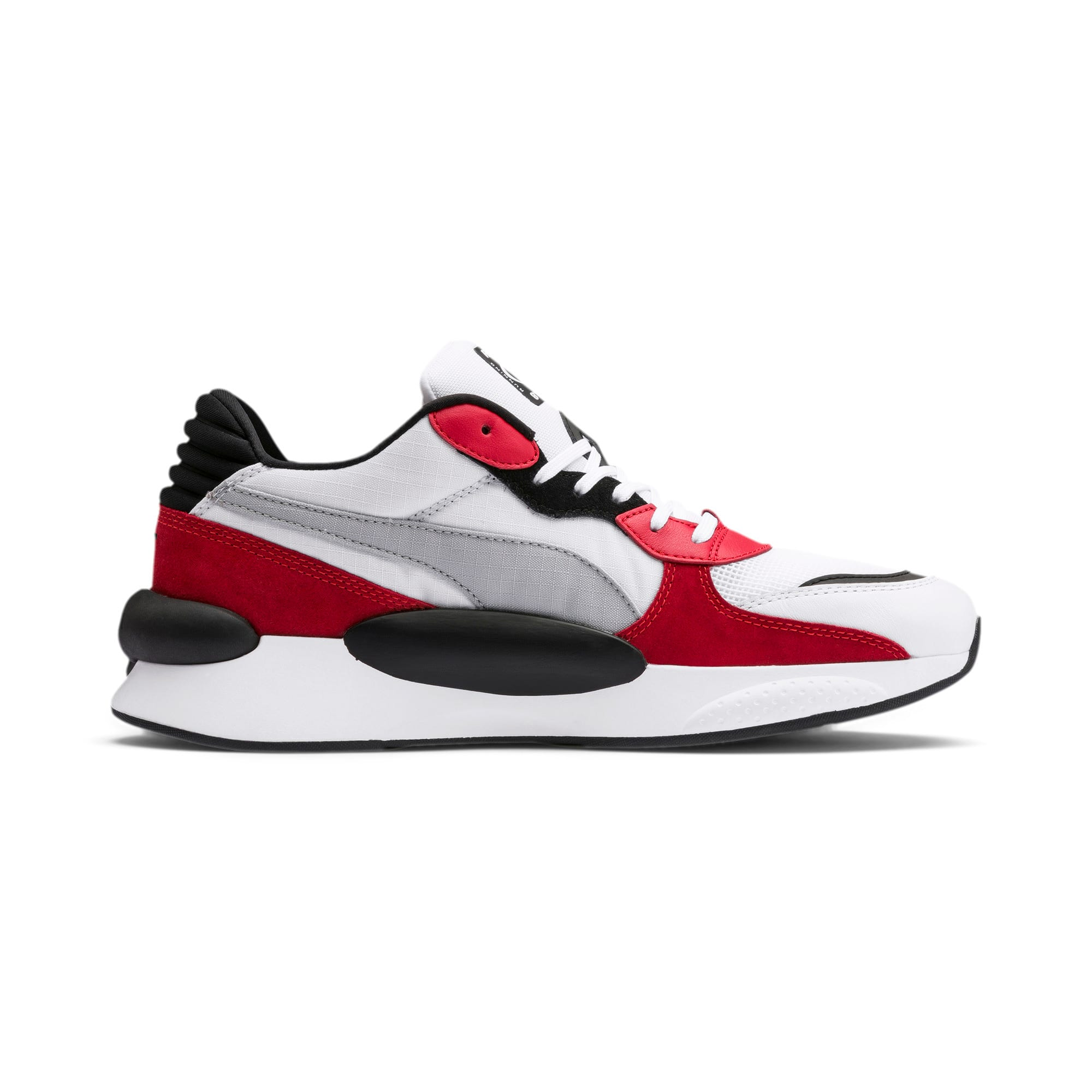 Thumbnail 6 of RS 9.8 Space sportschoenen, Puma White-High Risk Red, medium