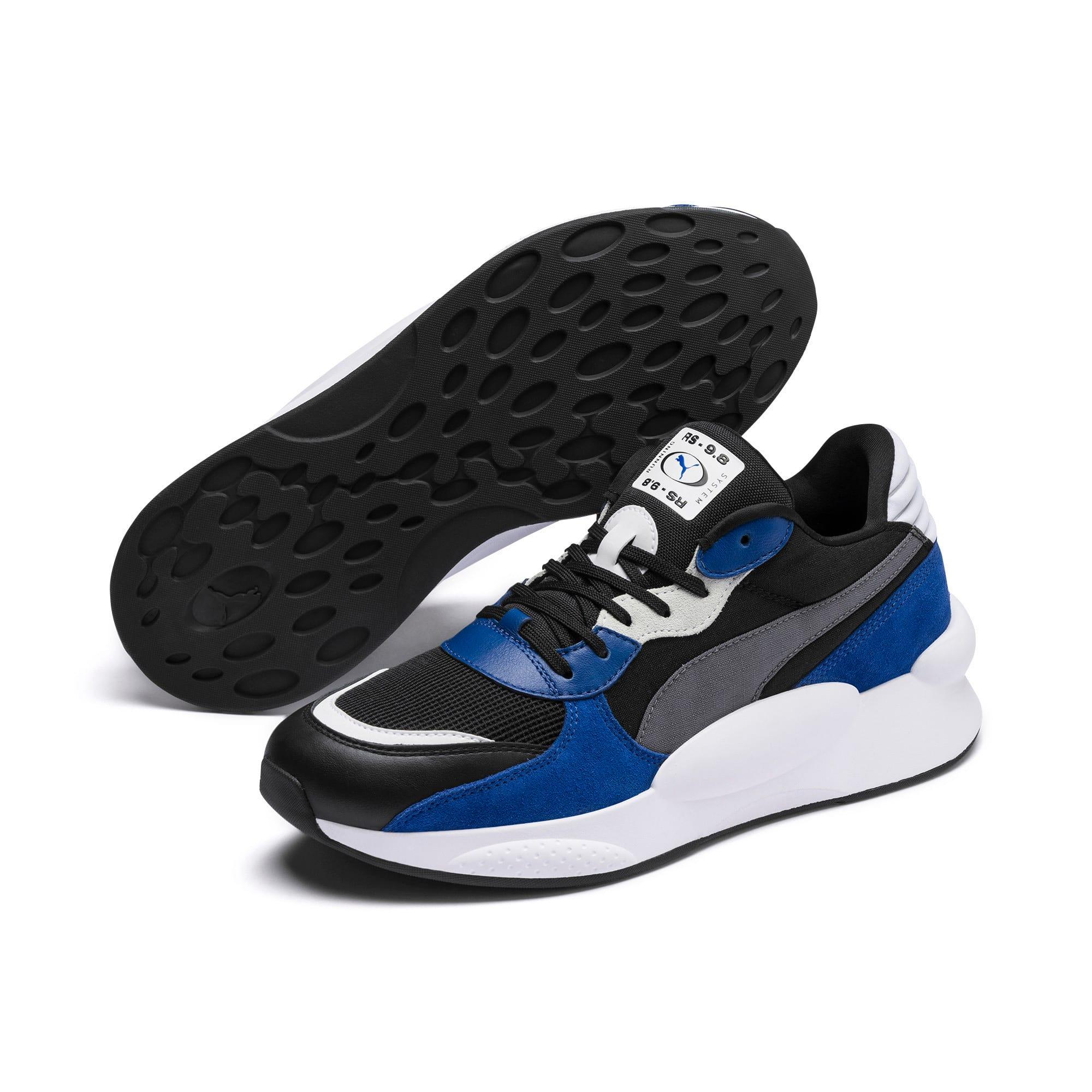 Thumbnail 2 of RS 9.8 Space Sneakers, Puma Black-Galaxy Blue, medium