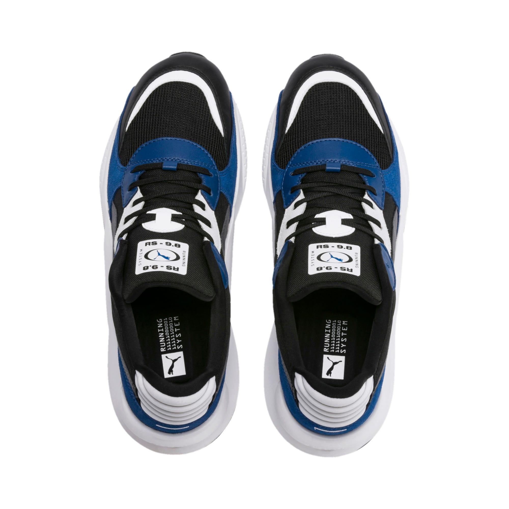 Thumbnail 6 of RS 9.8 Space Sneakers, Puma Black-Galaxy Blue, medium