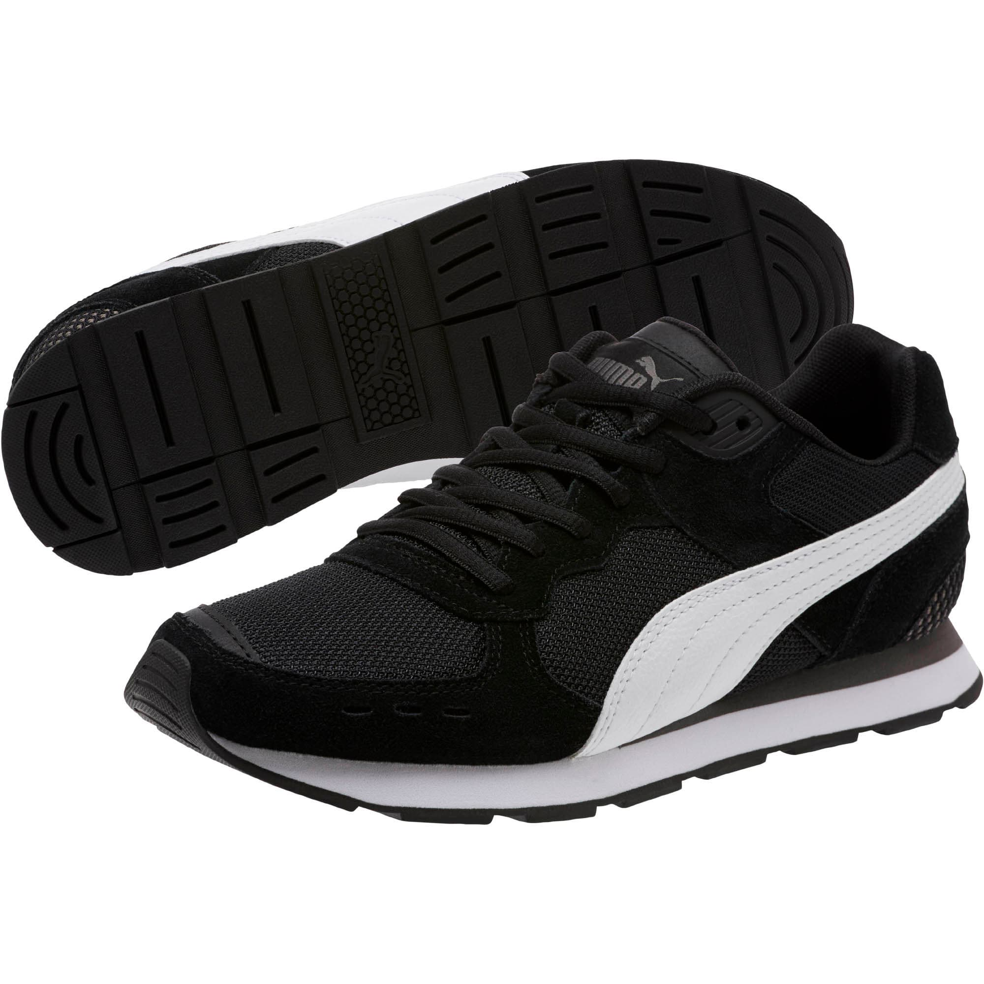 Thumbnail 2 of Vista Women's Sneakers, Black-White-Charcoal Gray, medium