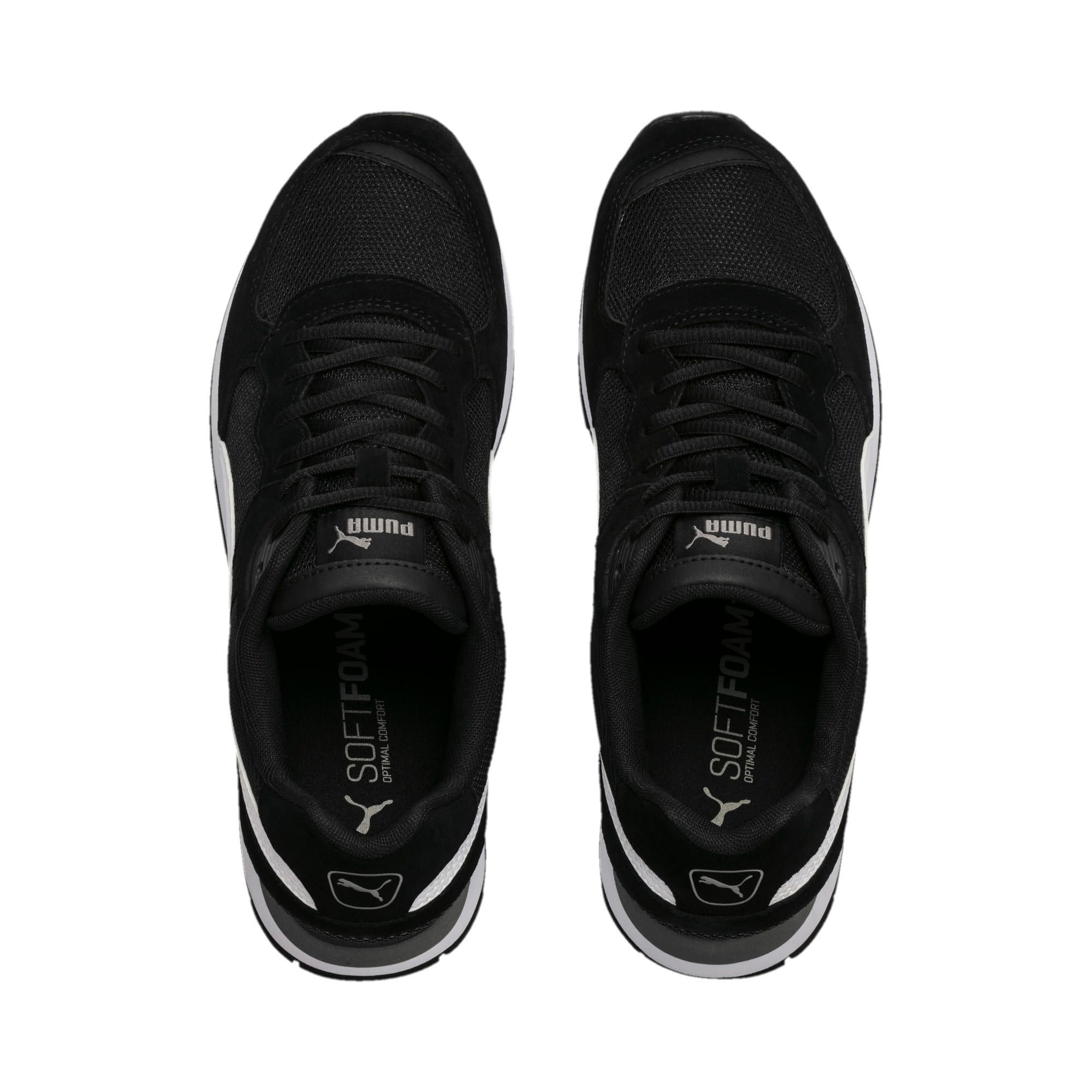 Thumbnail 6 of Vista Women's Sneakers, Black-White-Charcoal Gray, medium