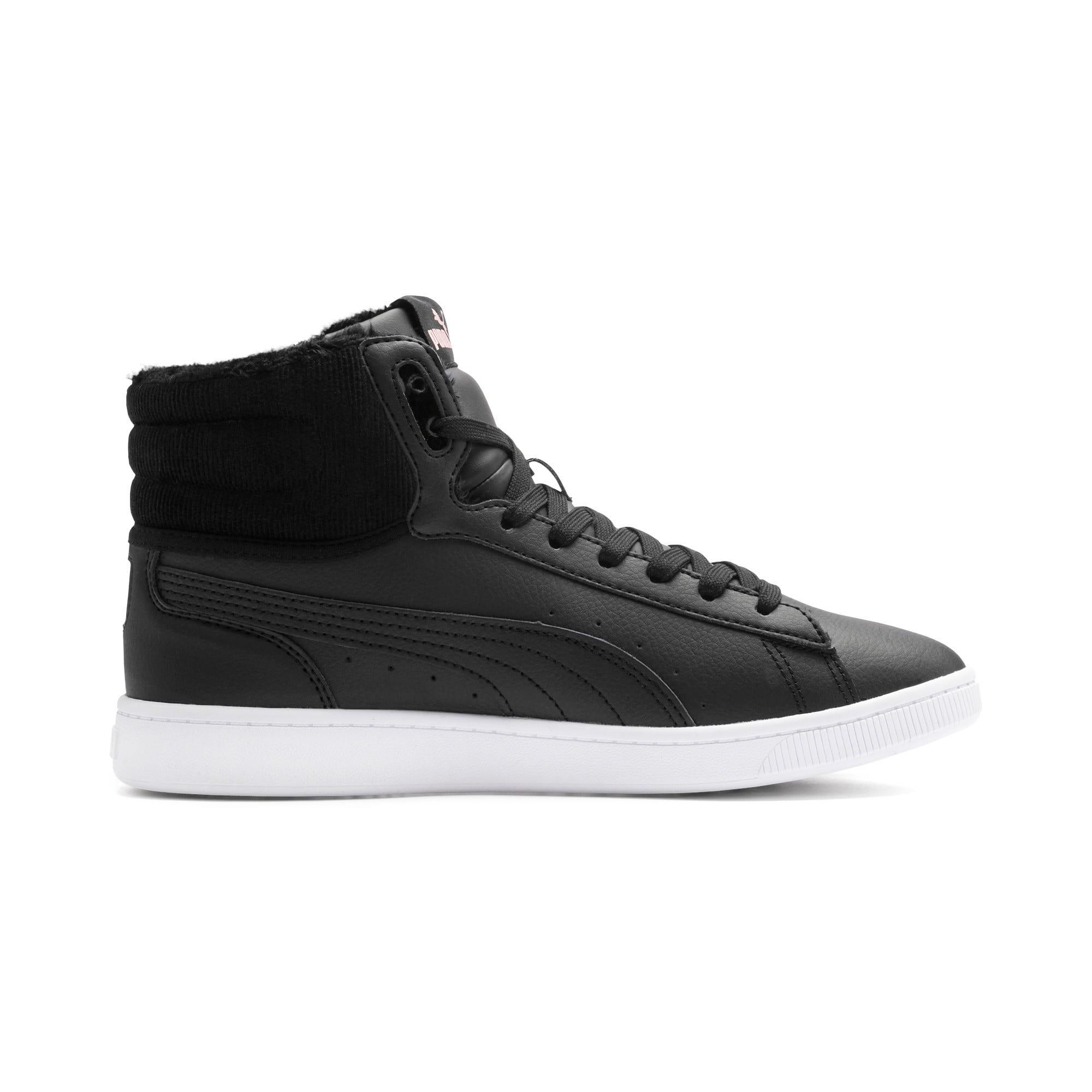Thumbnail 6 of Vikky v2 mittelhoher Damen Winter Sneaker, Puma Black-Bridal Rose-White, medium